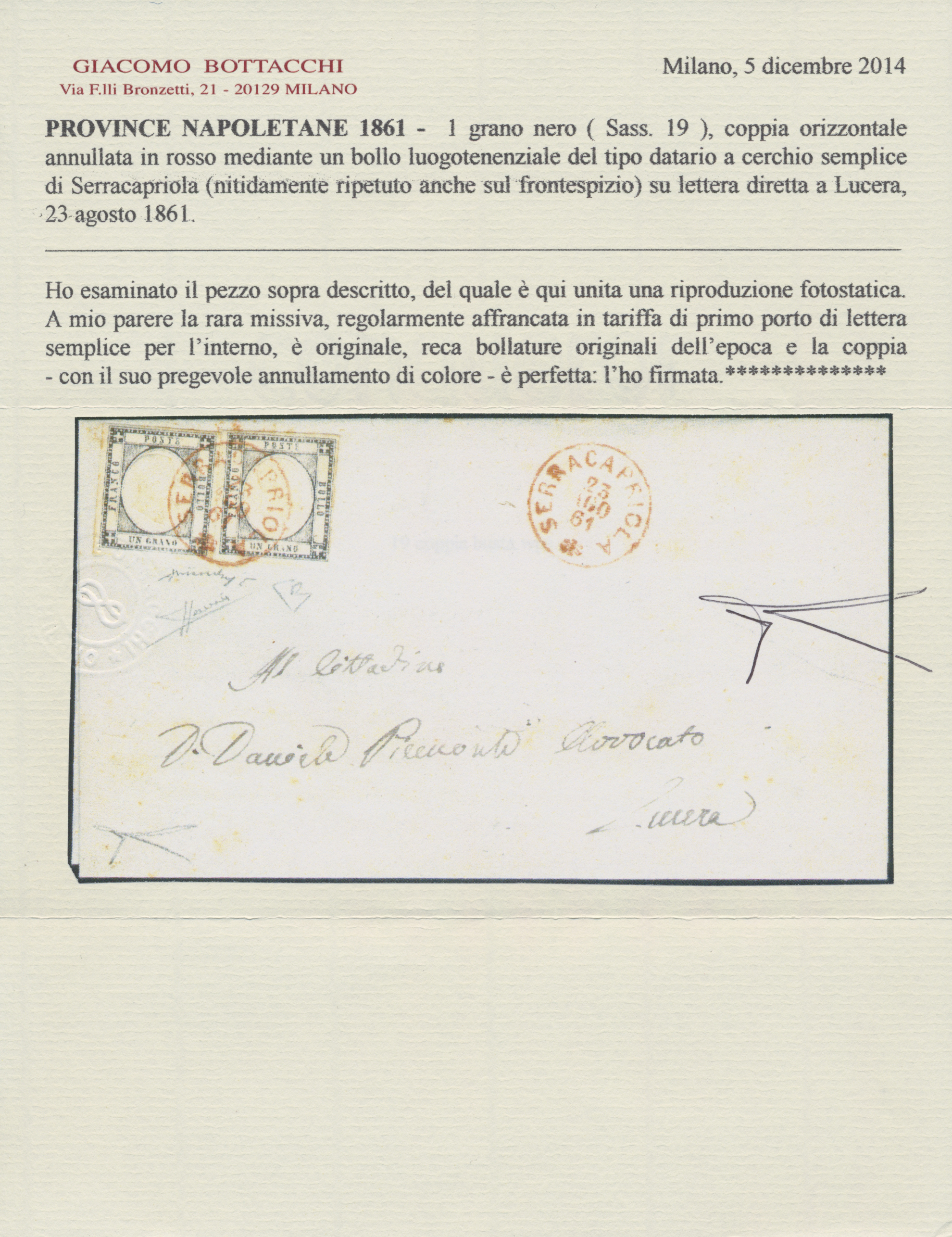 Lot 00005 - Italien - Altitalienische Staaten: Neapel  -  Auktionshaus Christoph Gärtner GmbH & Co. KG Intenational Rarities and contains lots from the collection of Peter Zgonc