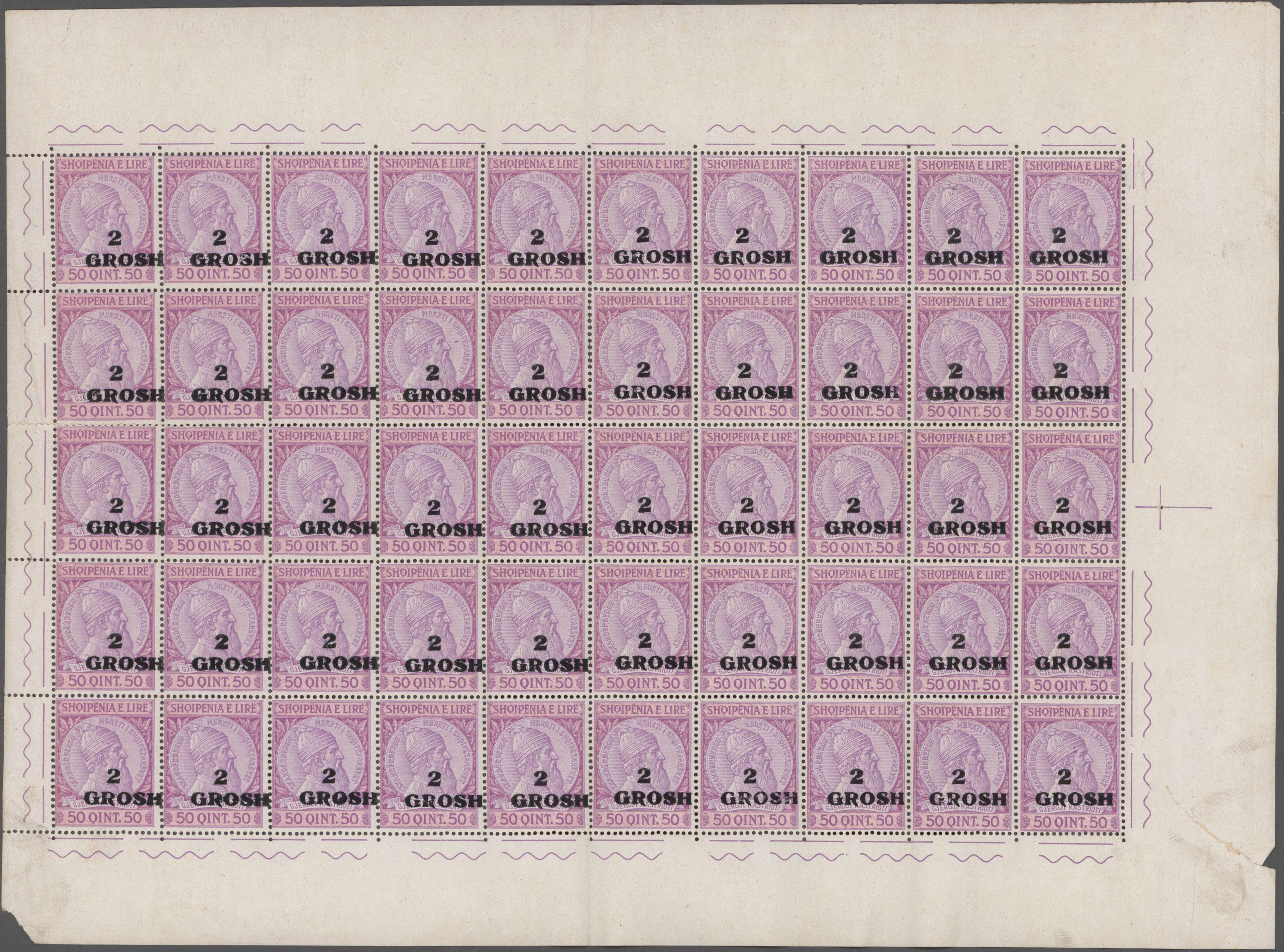 Lot 16362 - albanien  -  Auktionshaus Christoph Gärtner GmbH & Co. KG Sale #48 collections Overseas  Airmail / Ship mail & Thematics