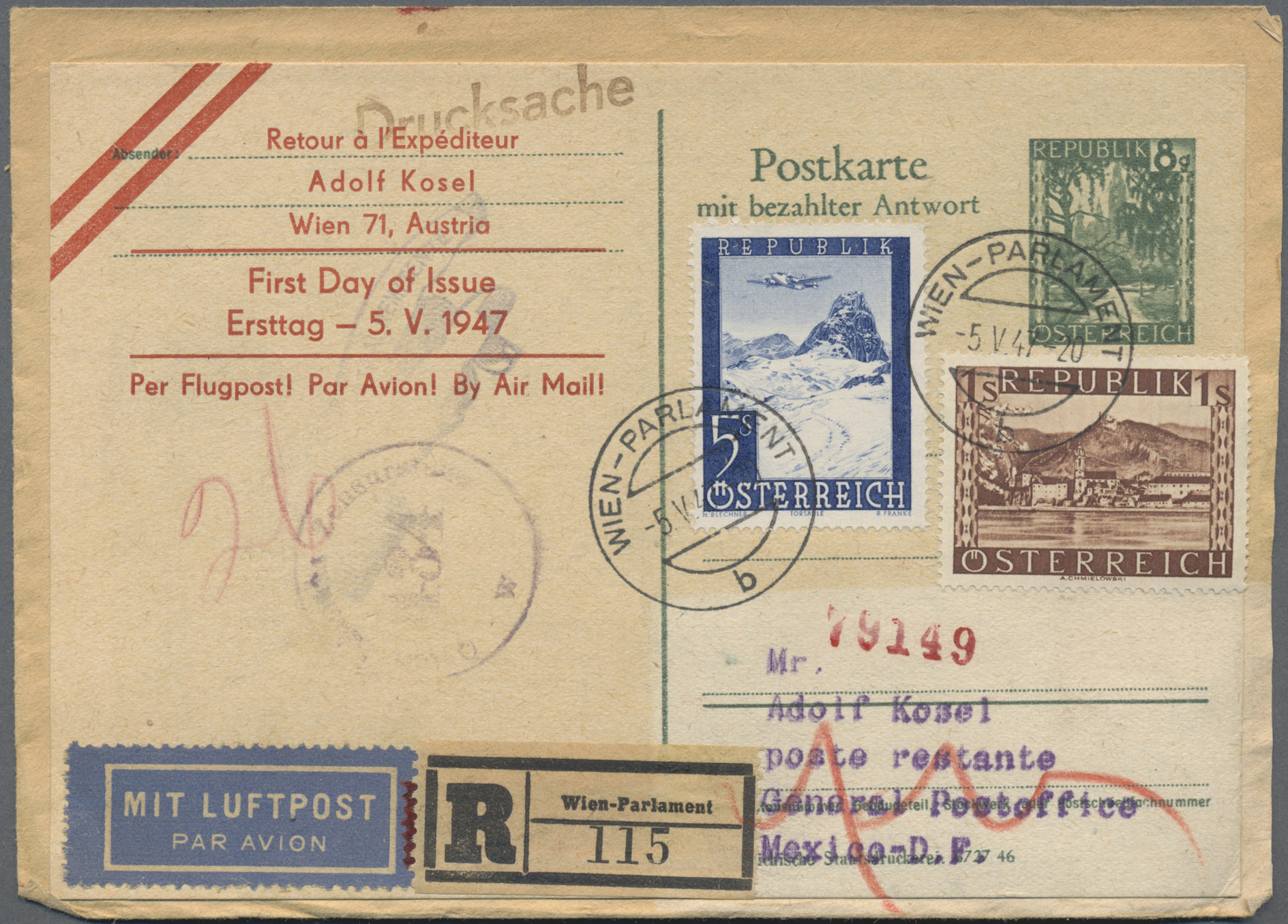 Lot 35010 - österreich  -  Auktionshaus Christoph Gärtner GmbH & Co. KG Sale #44 Collections Germany