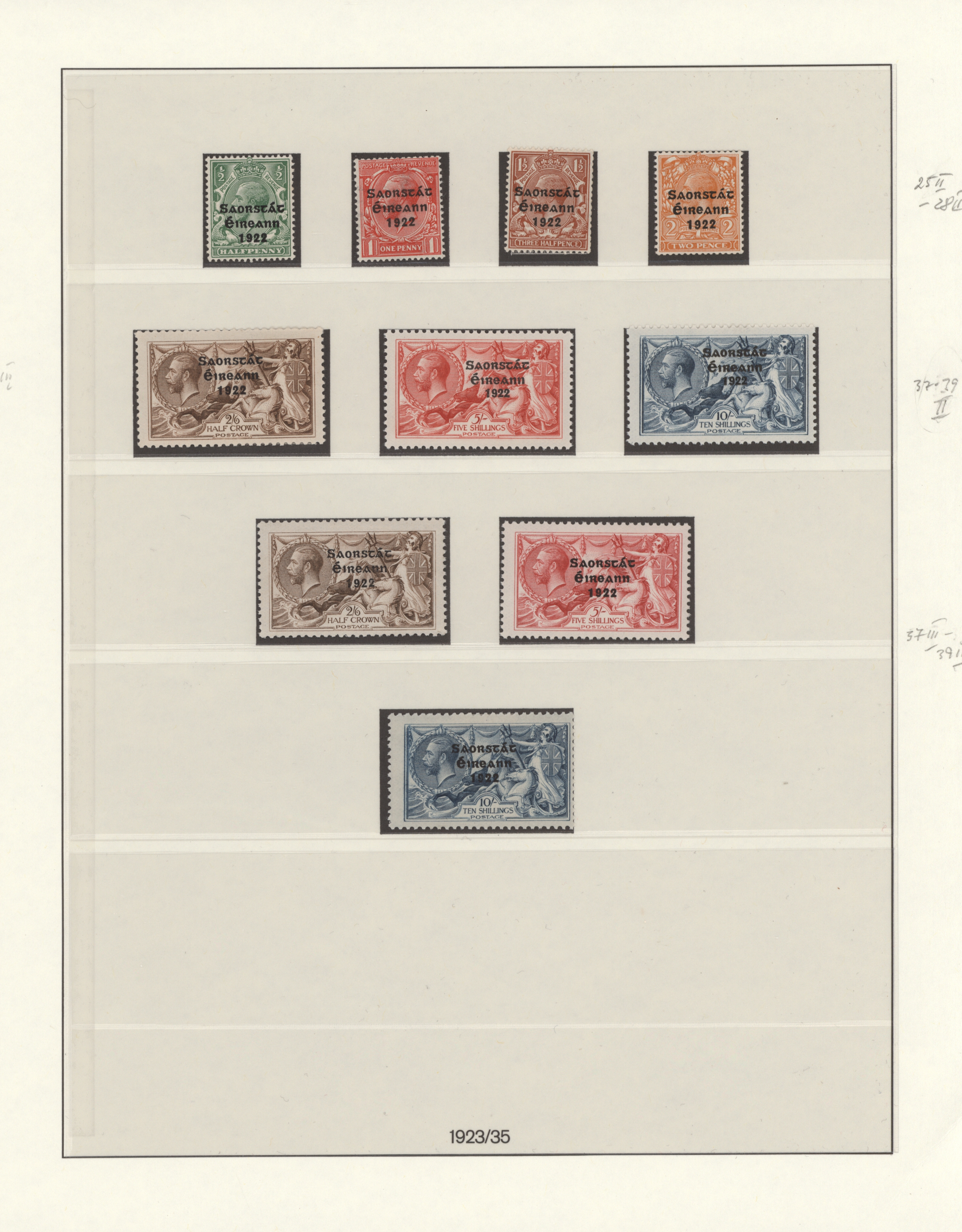 Lot 17153 - irland  -  Auktionshaus Christoph Gärtner GmbH & Co. KG Sale #48 collections Overseas  Airmail / Ship mail & Thematics