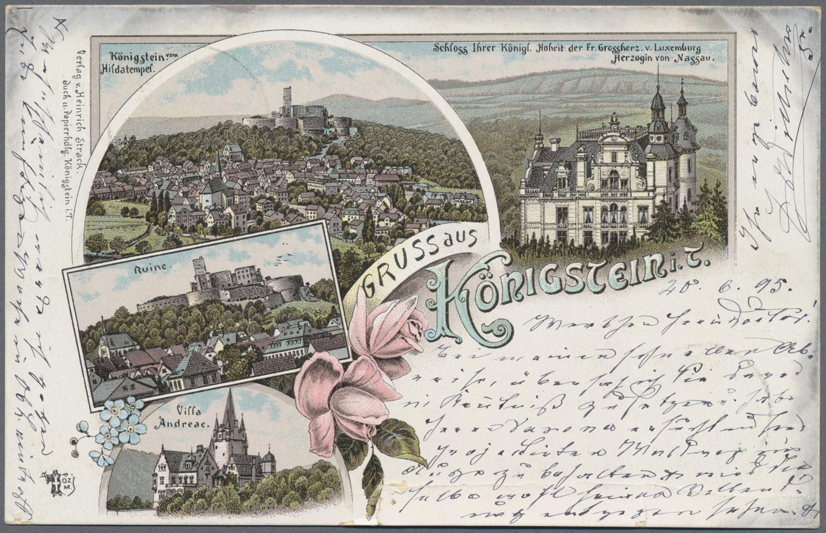 Lot 04545 - Ansichtskarten: Hessen  -  Auktionshaus Christoph Gärtner GmbH & Co. KG Sale #48 The Coins & The Picture Post Cards