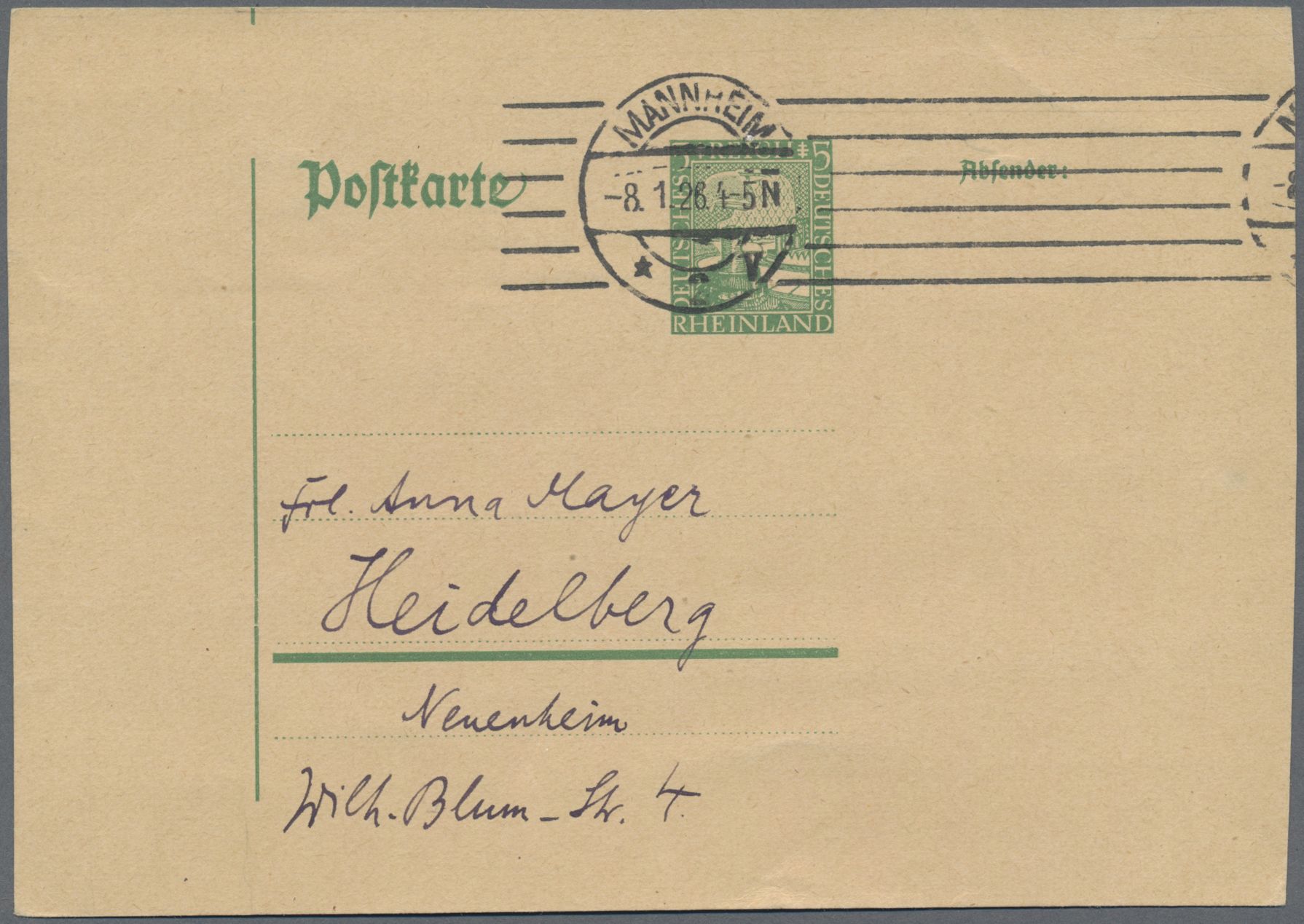 Lot 15024 - Deutsches Reich - Ganzsachen  -  Auktionshaus Christoph Gärtner GmbH & Co. KG Sale #46 Single lots Germany - and picture post cards
