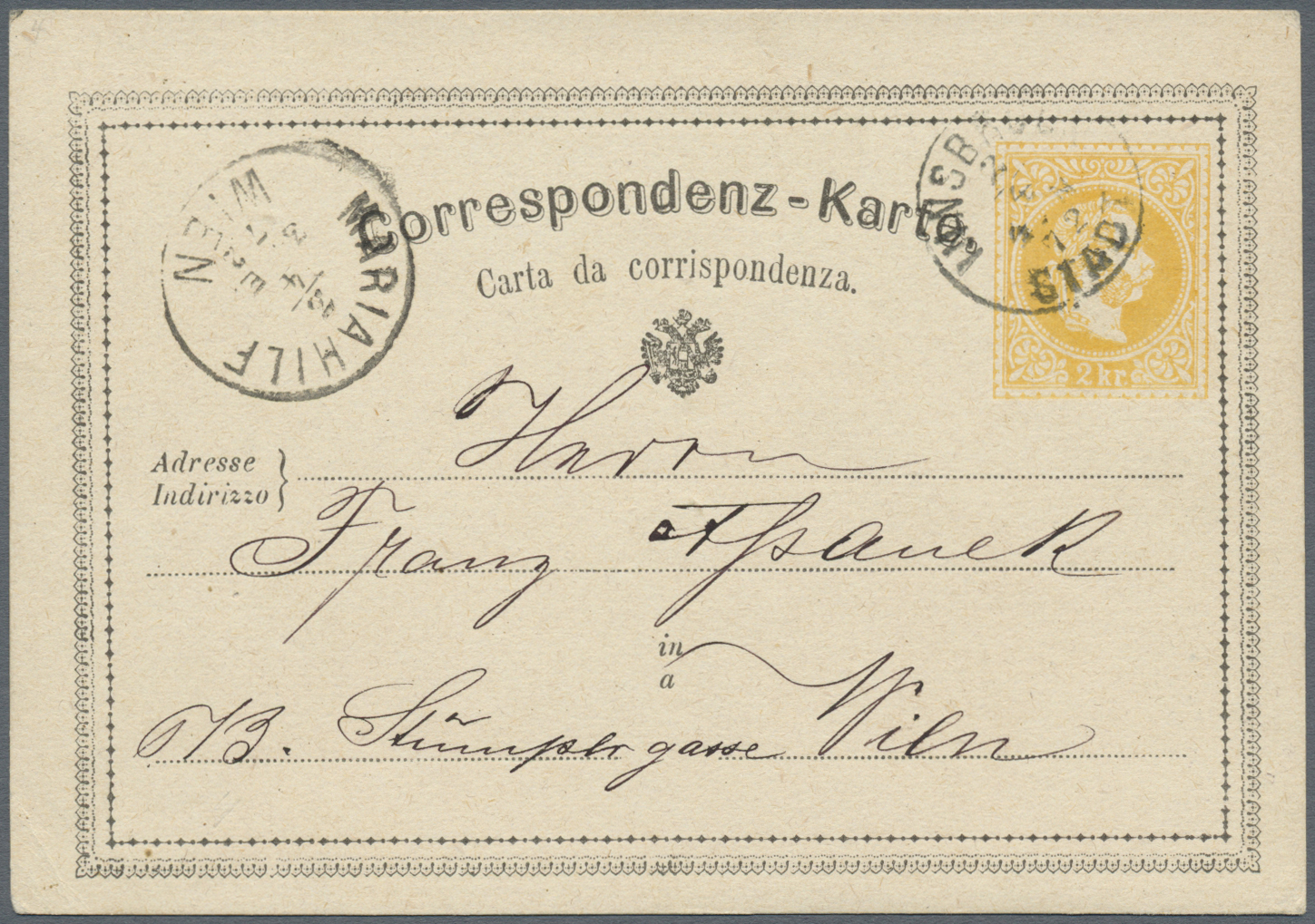 Lot 18226 - österreich - ganzsachen  -  Auktionshaus Christoph Gärtner GmbH & Co. KG Single lots Philately Overseas & Europe. Auction #39 Day 4