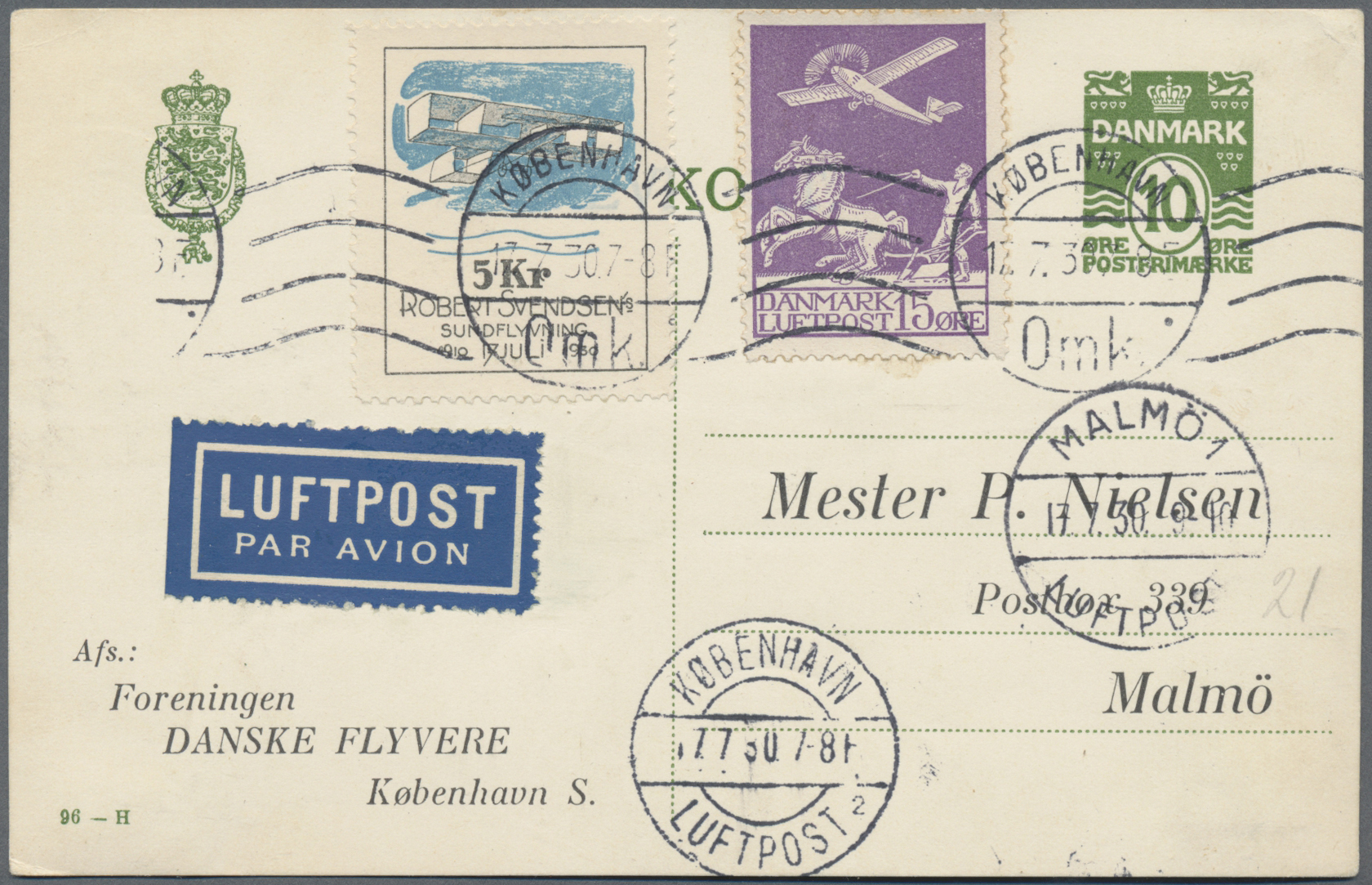 Lot 34824 - flugpost alle welt  -  Auktionshaus Christoph Gärtner GmbH & Co. KG Sale #44 Collections Germany