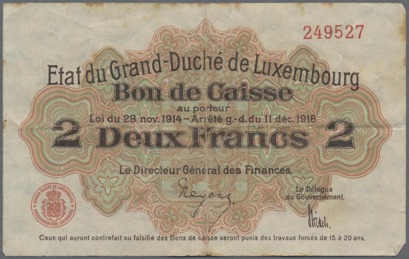 Lot 01154 - Alle Welt | Banknoten  -  Auktionshaus Christoph Gärtner GmbH & Co. KG Sale #48 The Banknotes