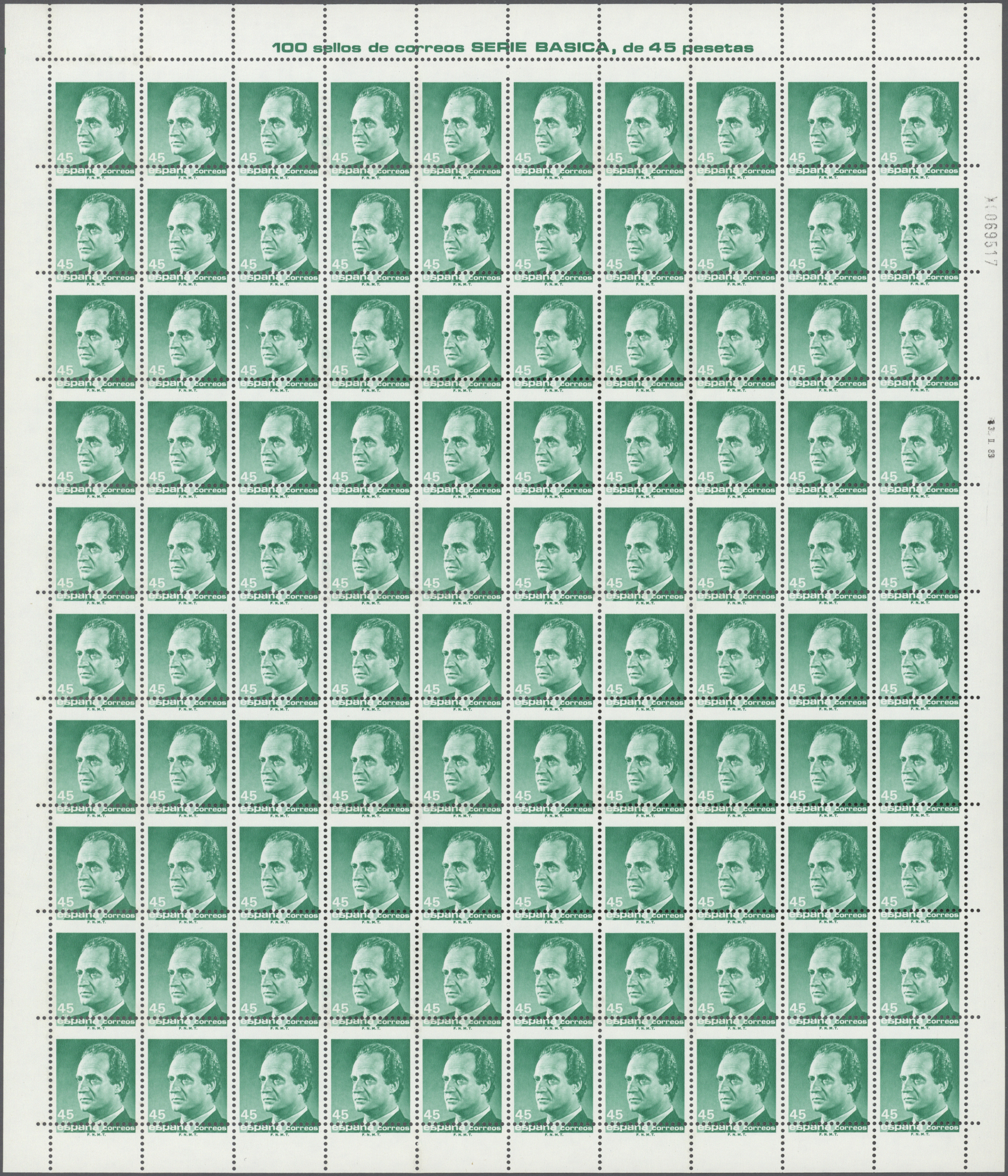 Lot 13355 - spanien  -  Auktionshaus Christoph Gärtner GmbH & Co. KG Sale #46 Single lots Asia, Thematics, Overseas, Europe …