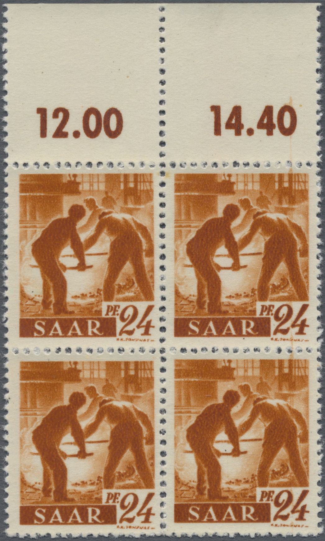 Lot 01417 - Saarland (1947/56)  -  Auktionshaus Christoph Gärtner GmbH & Co. KG 50th Auction Anniversary Auction - Day 3