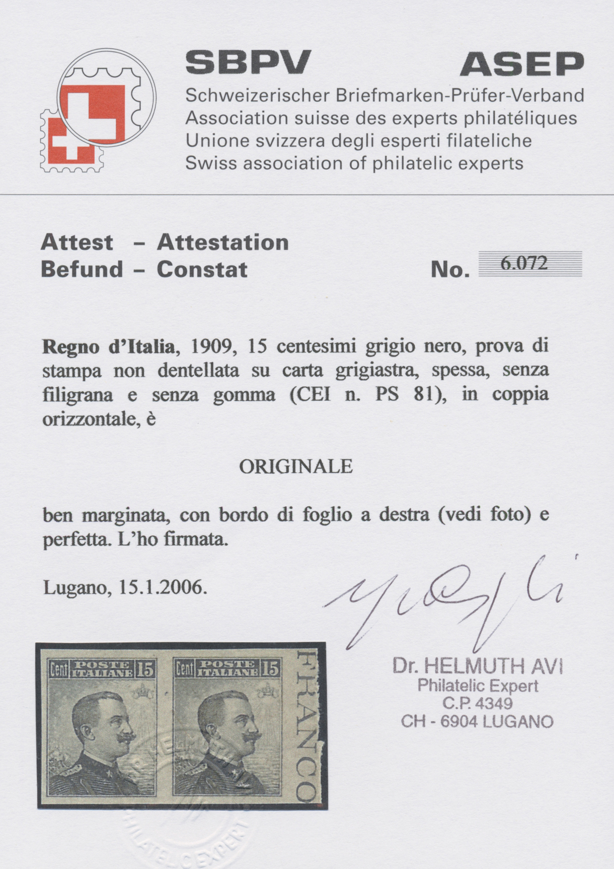 Lot 959 - italien  -  Auktionshaus Christoph Gärtner GmbH & Co. KG Auction #41 Special auction part one