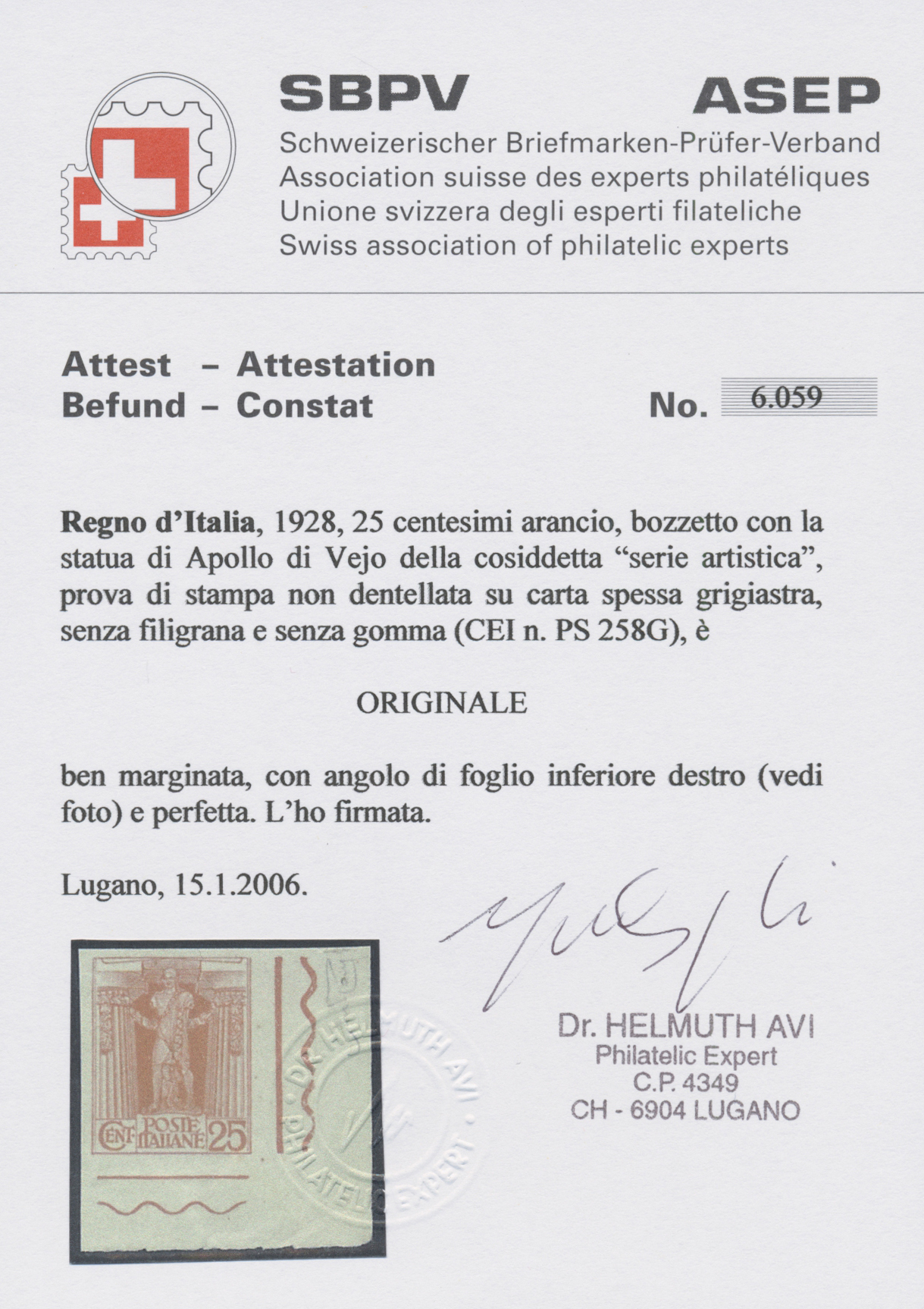 Lot 966 - italien  -  Auktionshaus Christoph Gärtner GmbH & Co. KG Auction #41 Special auction part one