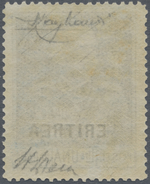 Lot 1057 - italienisch-eritrea  -  Auktionshaus Christoph Gärtner GmbH & Co. KG Auction #41 Special auction part one