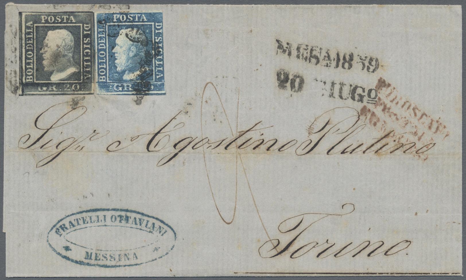 Lot 870 - Italien - Altitalienische Staaten: Sizilien  -  Auktionshaus Christoph Gärtner GmbH & Co. KG Auction #41 Special auction part one