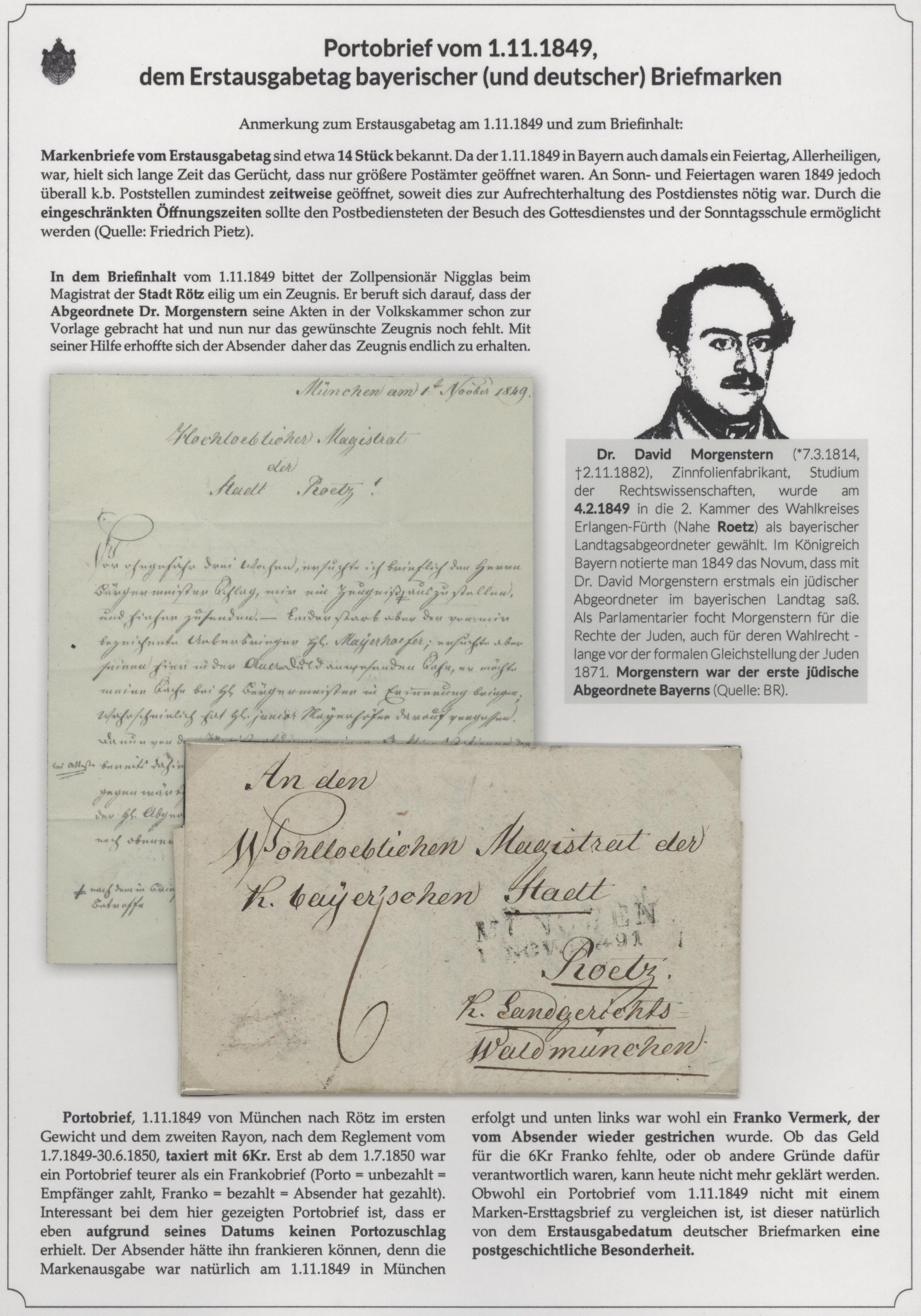 Stamp Auction - Bayern - Marken und Briefe - Auction #41 Special ...
