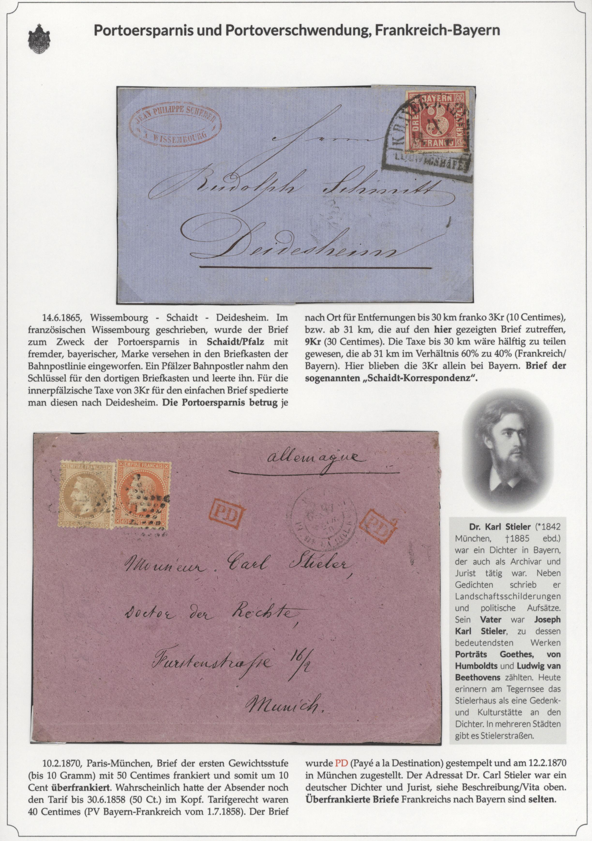 Stamp Auction Bayern Marken Und Briefe Auction 41 Special