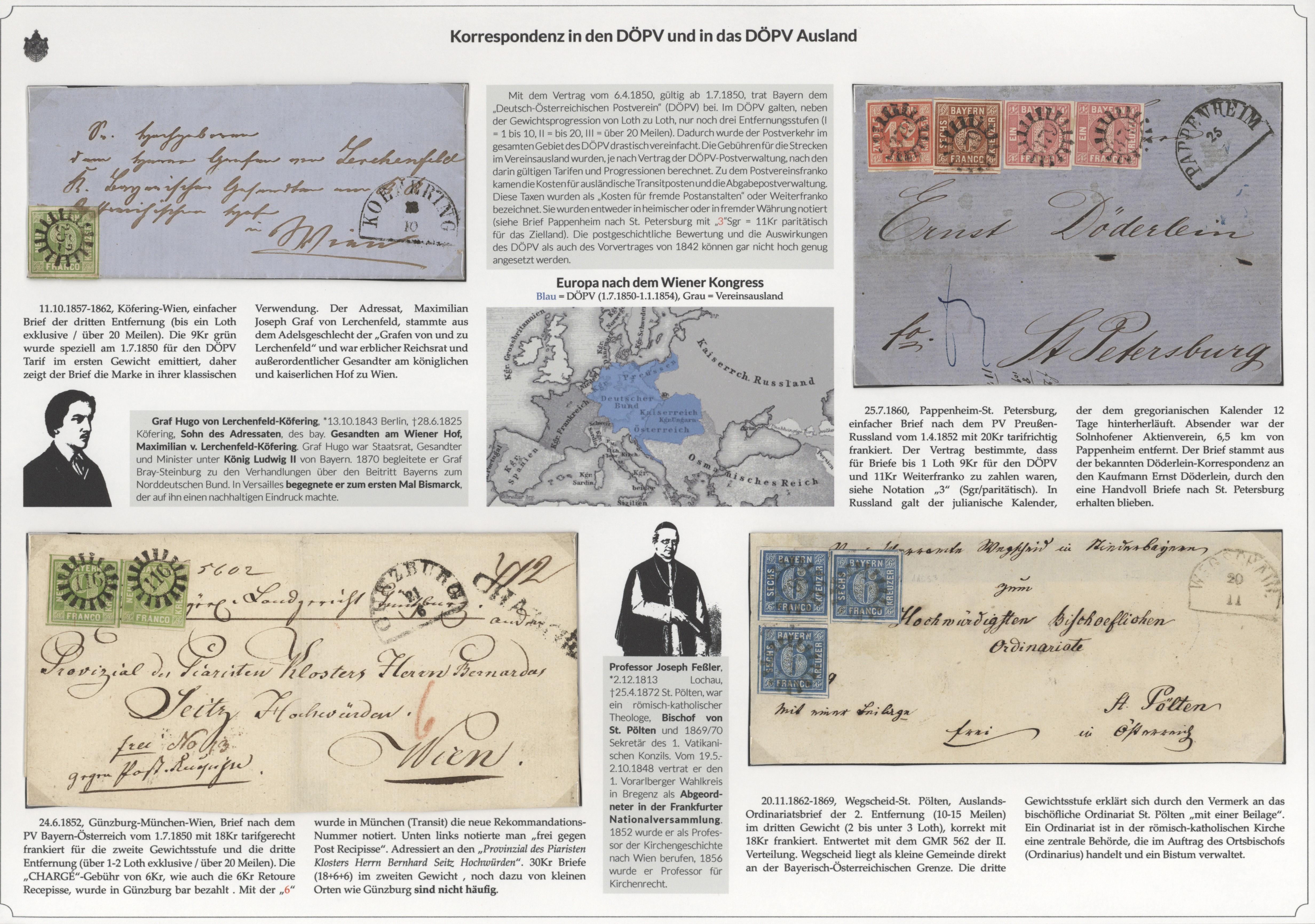 Briefe Von Napoleon : Stamp auction bayern marken und briefe international