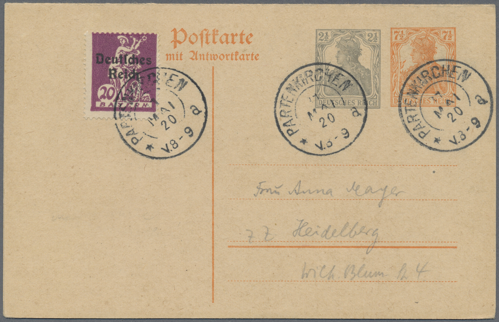 Lot 36009 - deutschland  -  Auktionshaus Christoph Gärtner GmbH & Co. KG Collections Germany,  Collections Supplement, Surprise boxes #39 Day 7