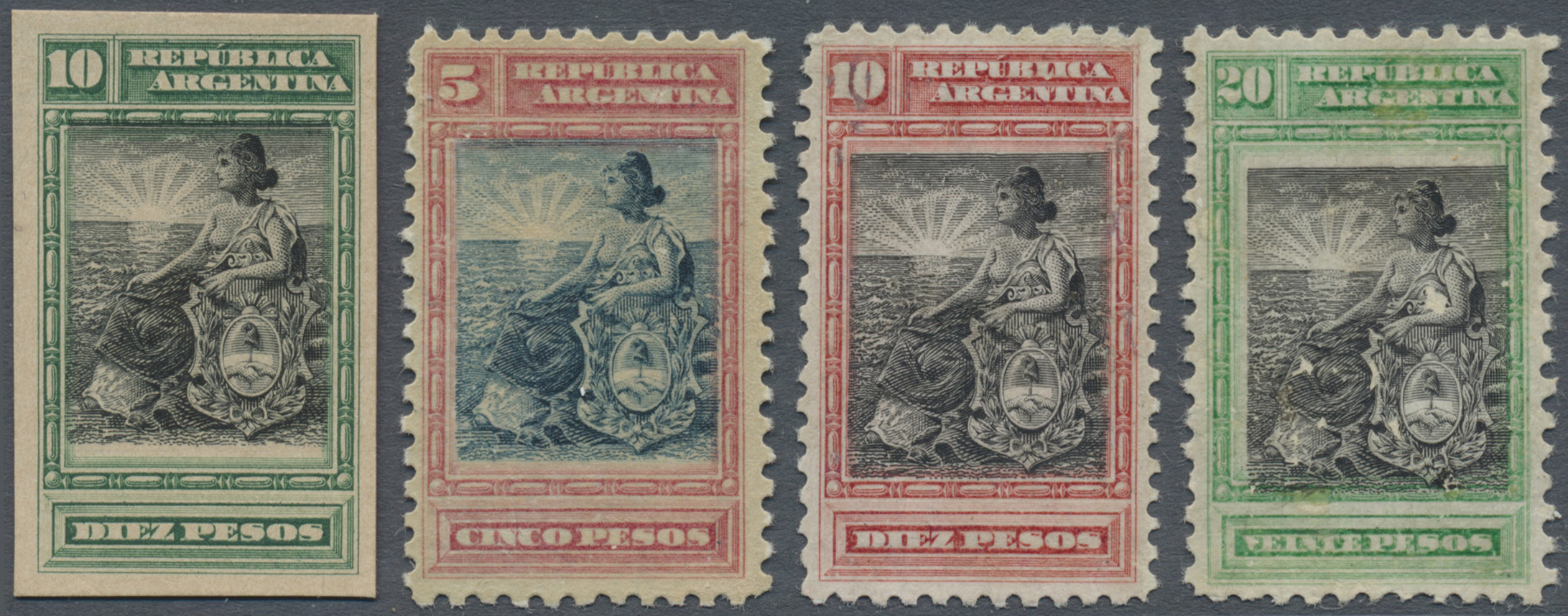 Lot 13183 - argentinien  -  Auktionshaus Christoph Gärtner GmbH & Co. KG Single lots Philately Overseas & Europe. Auction #39 Day 4