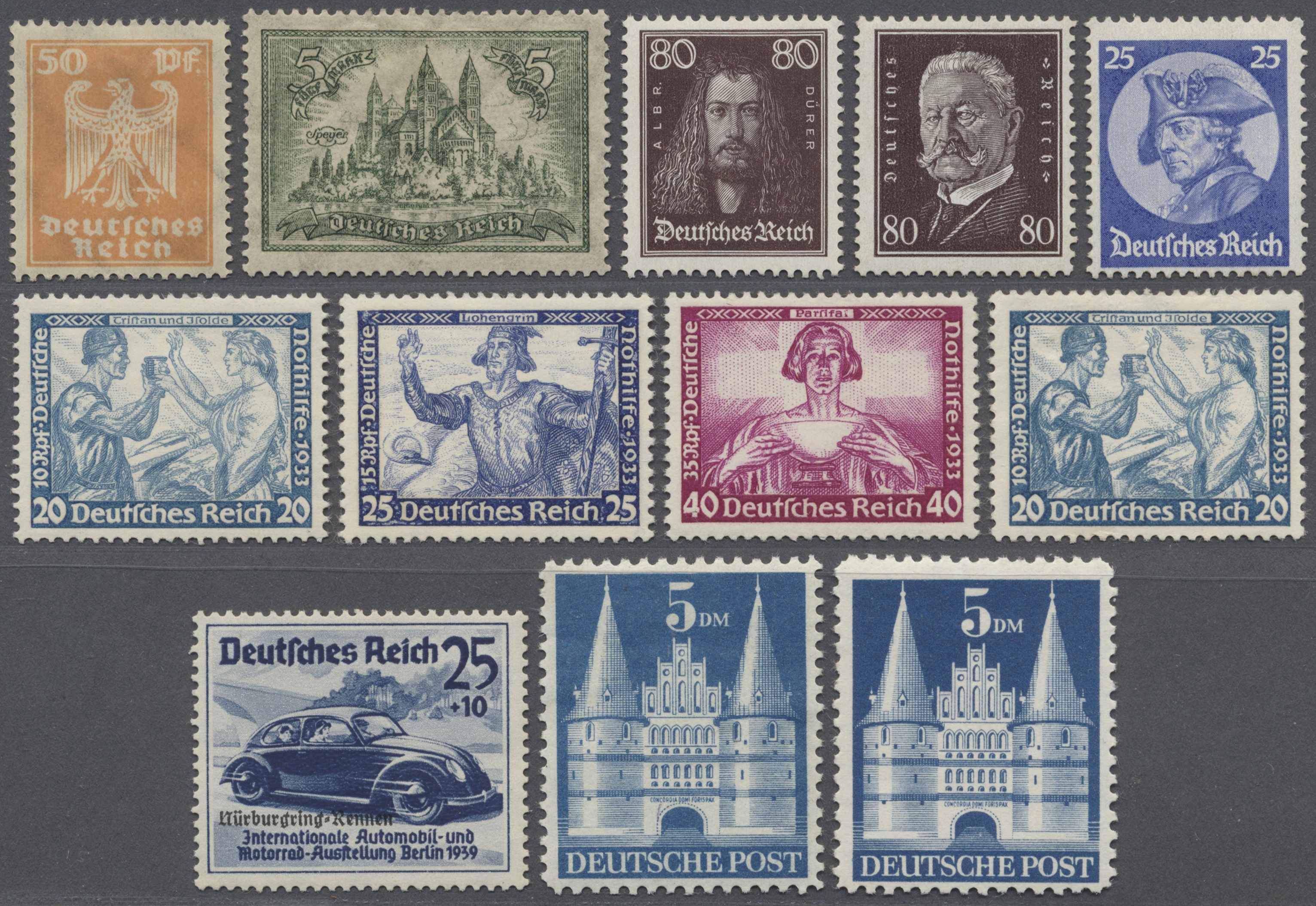 Lot 36098 - deutschland  -  Auktionshaus Christoph Gärtner GmbH & Co. KG Collections Germany,  Collections Supplement, Surprise boxes #39 Day 7
