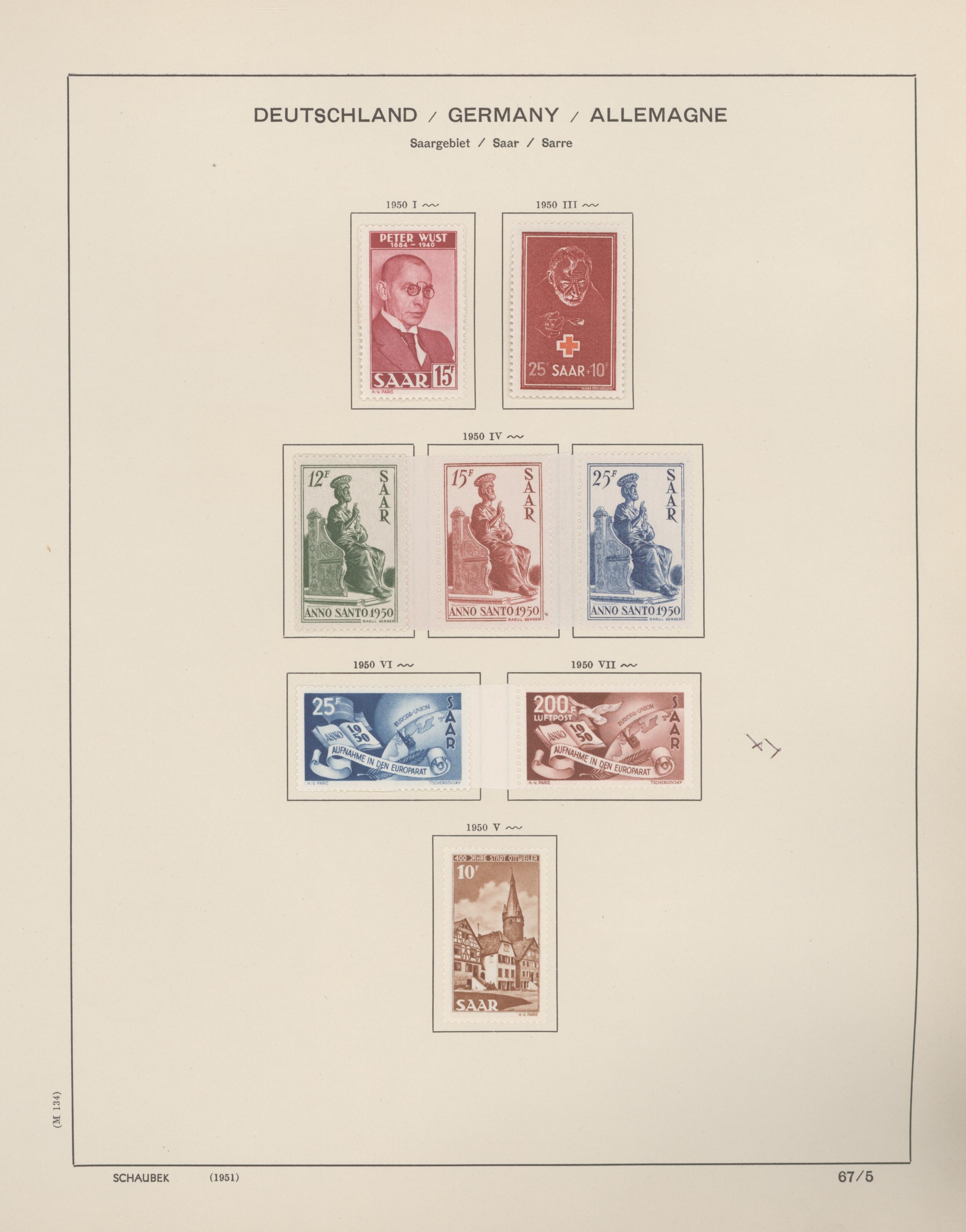 Lot 14749 - Deutsche Abstimmungsgebiete: Saargebiet  -  Auktionshaus Christoph Gärtner GmbH & Co. KG 51th Auction - Day 5