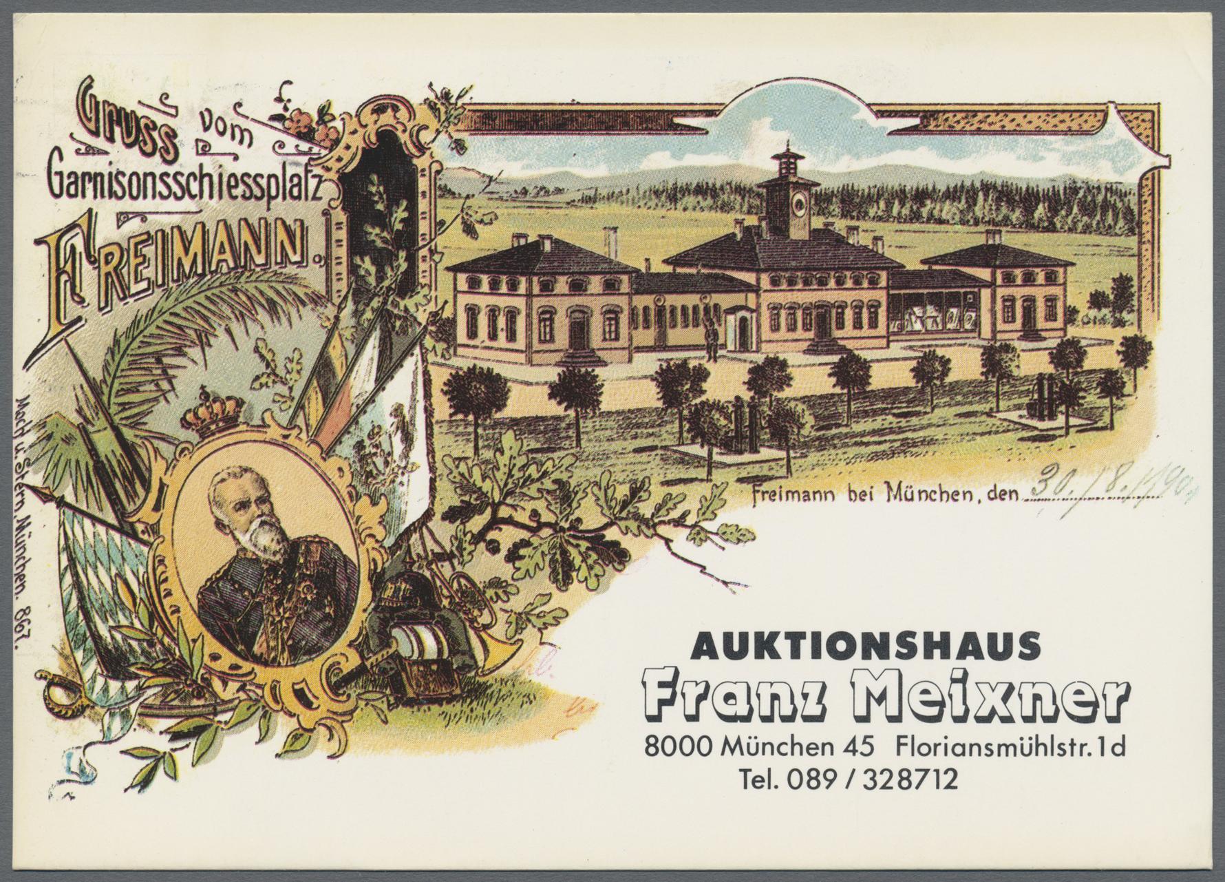 Lot 04139 - ansichtskarten: motive / thematics  -  Auktionshaus Christoph Gärtner GmbH & Co. KG Special auction