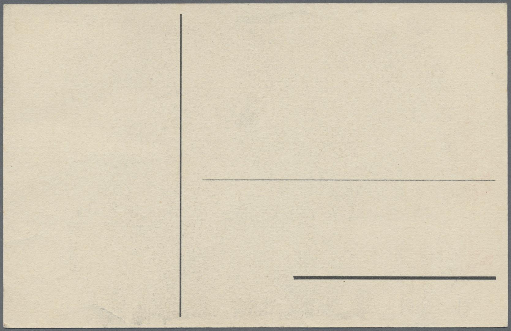 Lot 23610 - Kriegs- und Propagandafälschungen  -  Auktionshaus Christoph Gärtner GmbH & Co. KG Single lots Germany + Picture Postcards. Auction #39 Day 5
