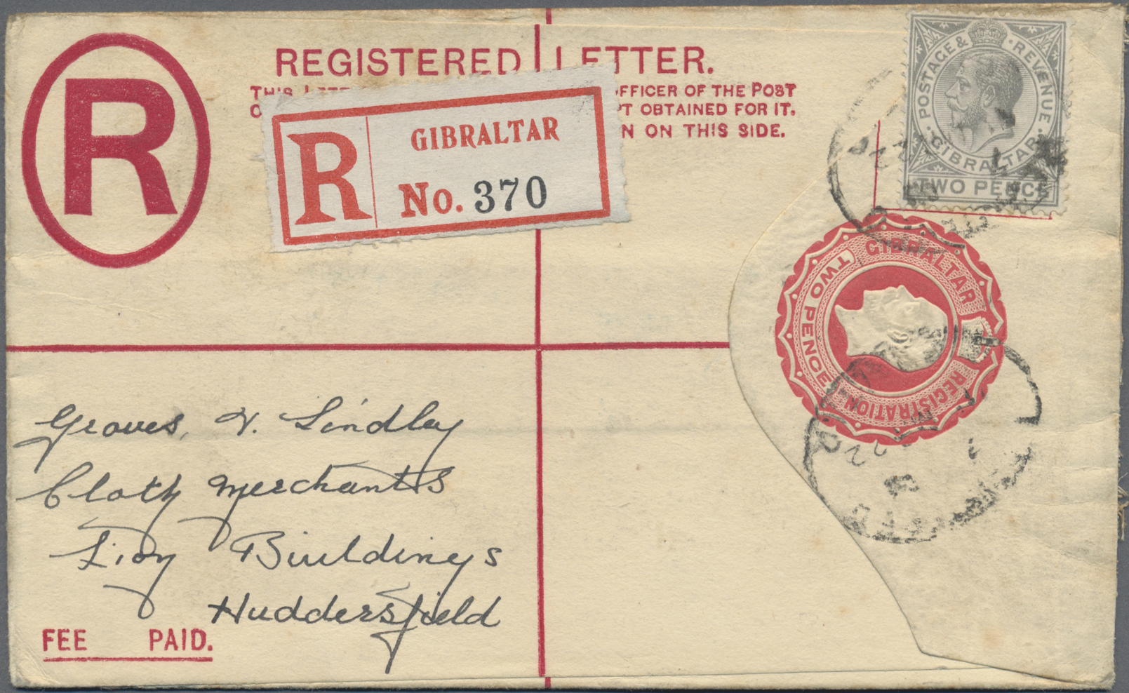 Lot 01811 - Gibraltar - Ganzsachen  -  Auktionshaus Christoph Gärtner GmbH & Co. KG Special Auction 26.- 28. May 2020 Day 2 Collections Part 2