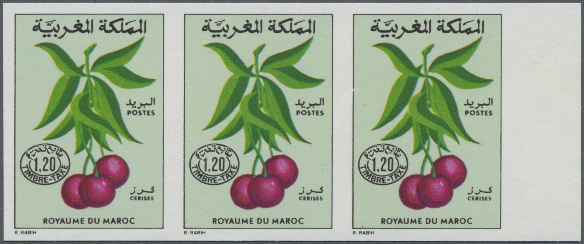 Stamp Auction - Thematik: Flora-Obst + Früchte / flora