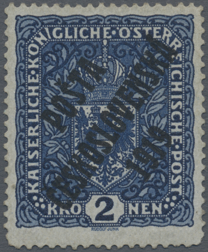 Lot 1712 - tschechoslowakei  -  Auktionshaus Christoph Gärtner GmbH & Co. KG Auction #41 Special auction part two