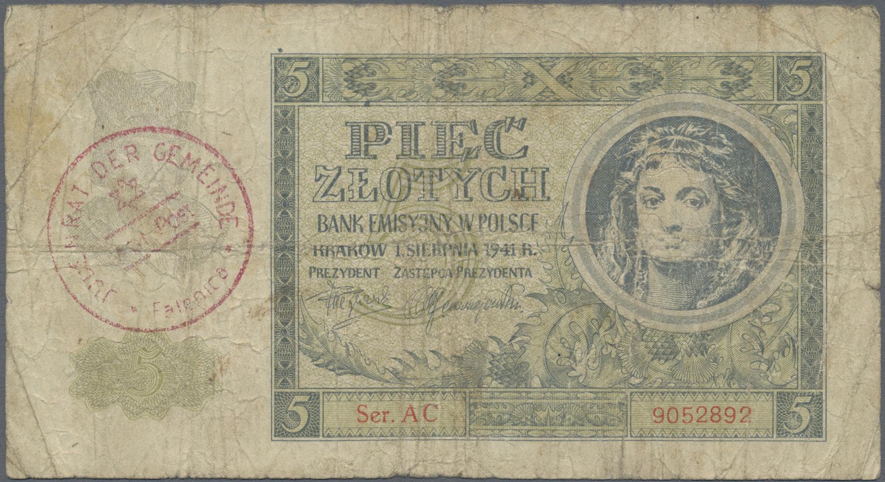 Lot 9891 - Deutschland - Konzentrations- und Kriegsgefangenenlager banknoten -  Auktionshaus Christoph Gärtner GmbH & Co. KG Sale #47 Banknotes Worldwide & Germany, Numismatics