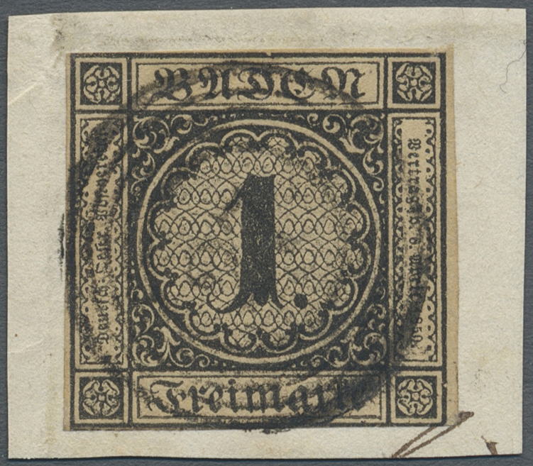 Lot 16001A - Baden - Marken und Briefe  -  Auktionshaus Christoph Gärtner GmbH & Co. KG Sale #45- GERMANY