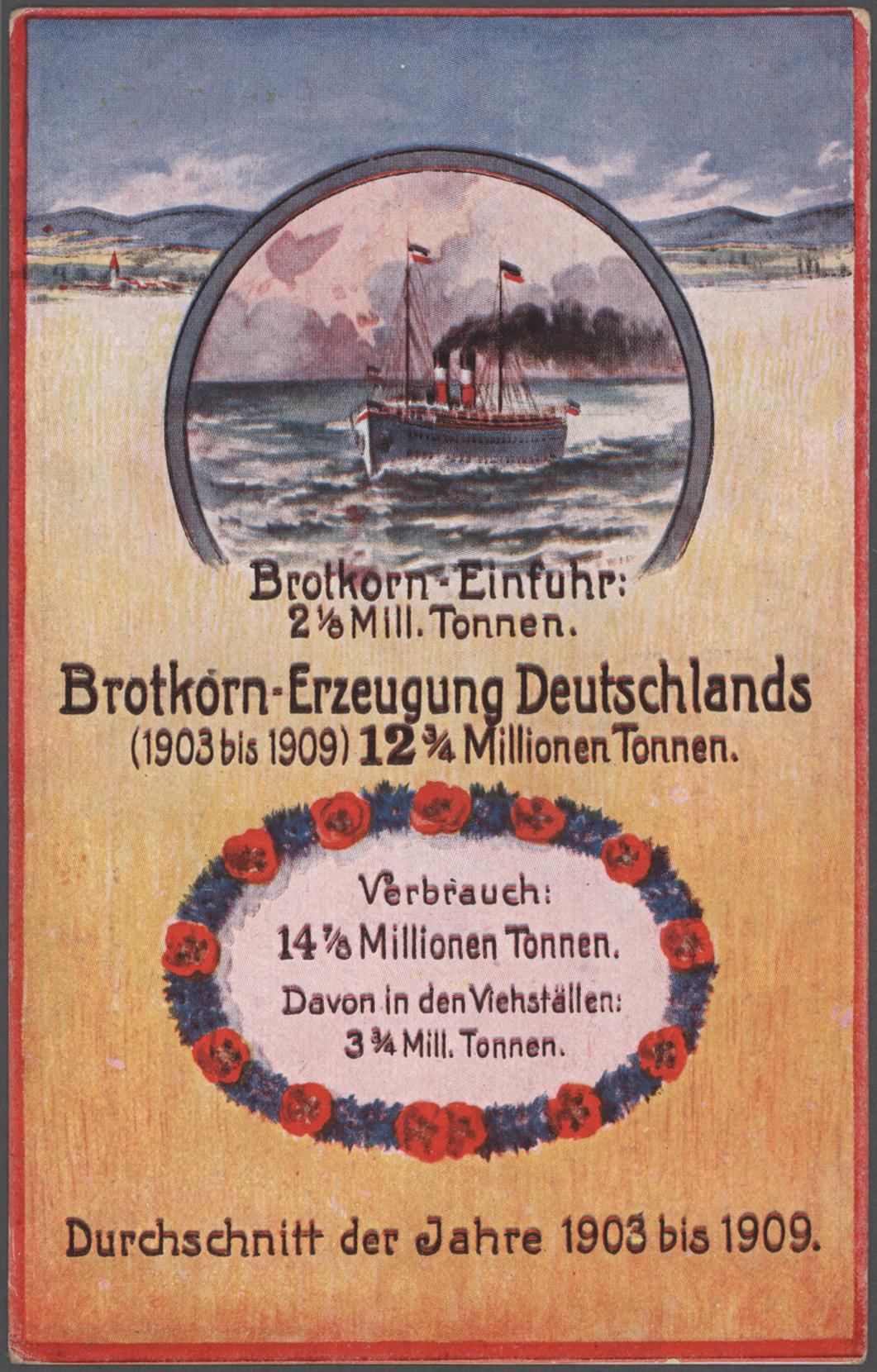 Lot 03513 - ansichtskarten: politik / politics  -  Auktionshaus Christoph Gärtner GmbH & Co. KG Sale #48 The Coins & The Picture Post Cards