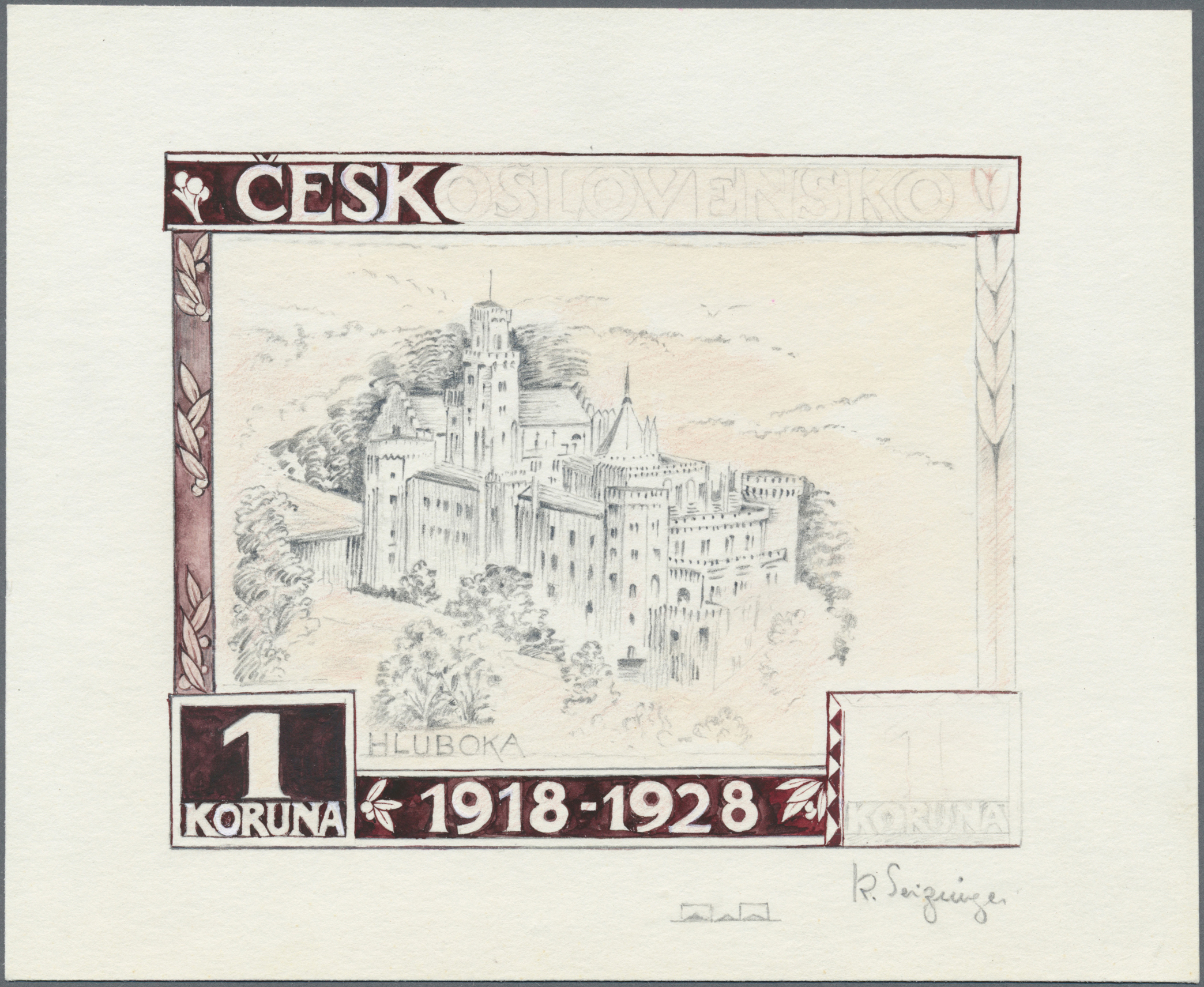 Lot 1723 - tschechoslowakei  -  Auktionshaus Christoph Gärtner GmbH & Co. KG Auction #41 Special auction part two