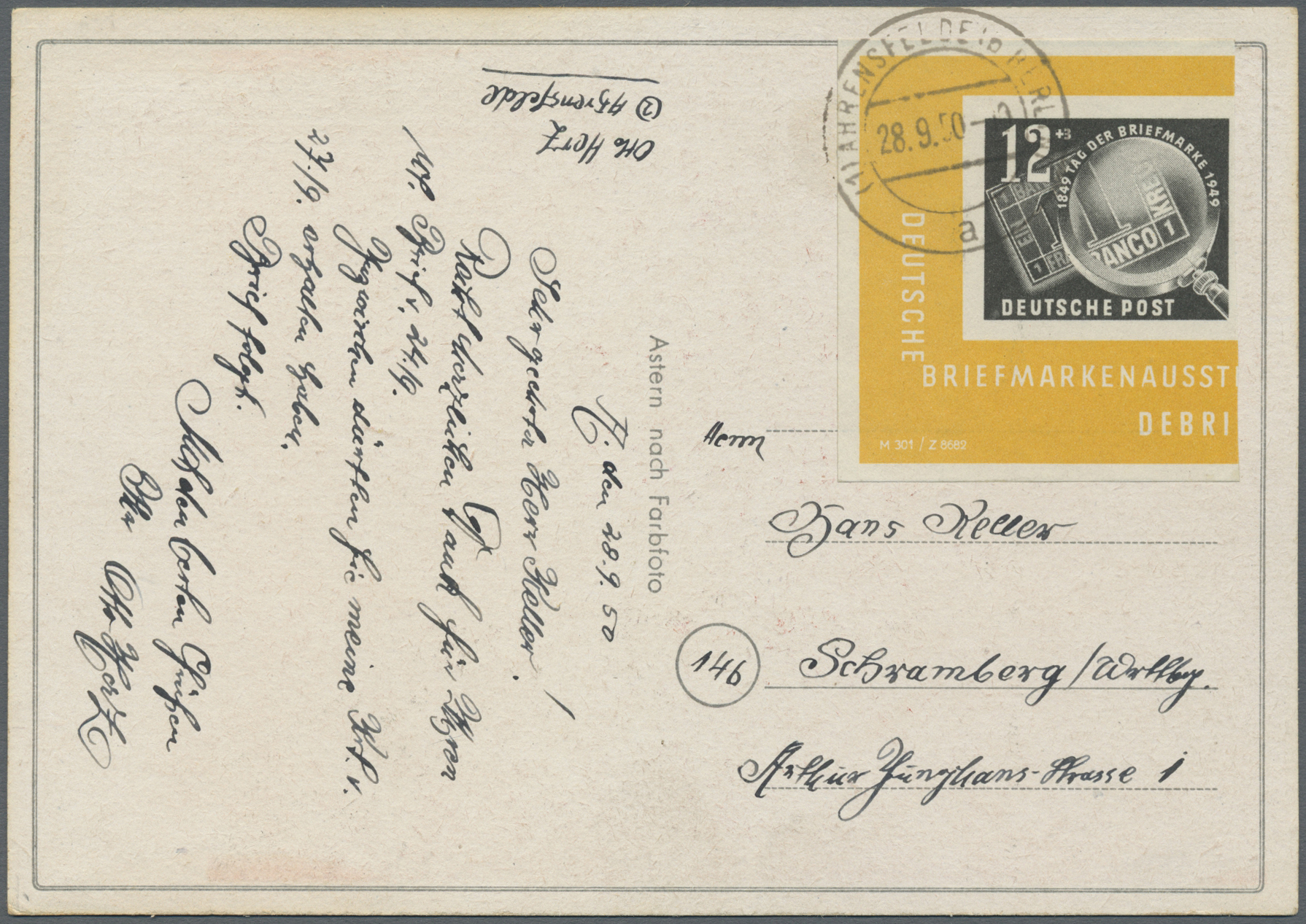 Lot 20190 - ddr  -  Auktionshaus Christoph Gärtner GmbH & Co. KG Auction #40 Germany, Picture Post Cards, Collections Overseas, Thematics