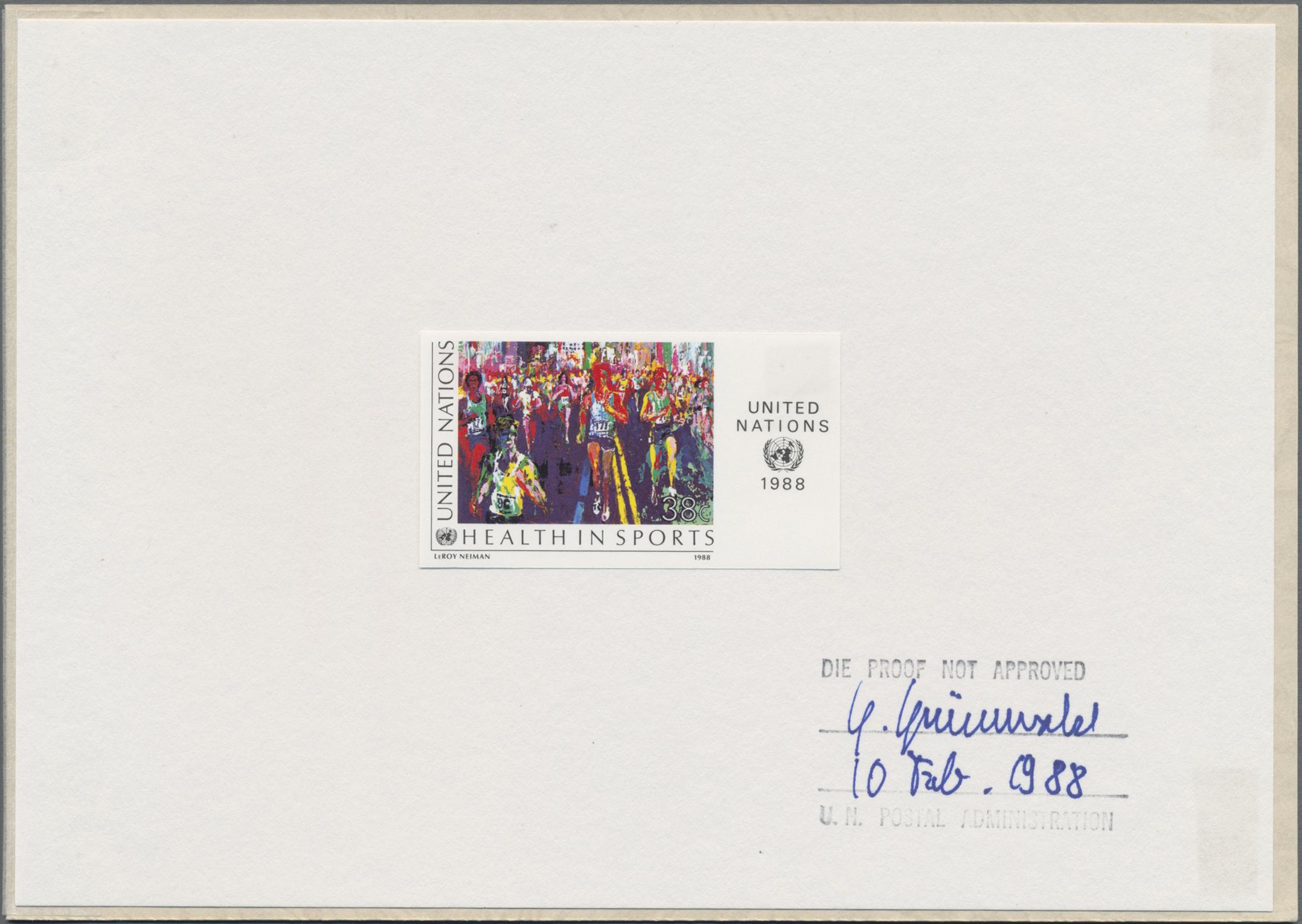 Lot 07802 - Vereinte Nationen - New York  -  Auktionshaus Christoph Gärtner GmbH & Co. KG Sale #48 The Single Lots Philatelie