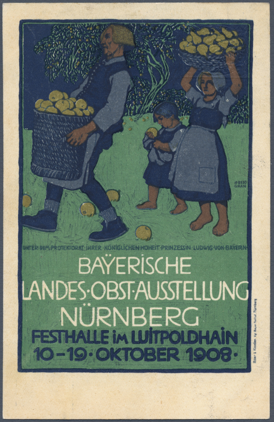 Lot 11551 - thematik: nahrung-obst / food-fruits  -  Auktionshaus Christoph Gärtner GmbH & Co. KG Single lots Philately Overseas & Europe. Auction #39 Day 4