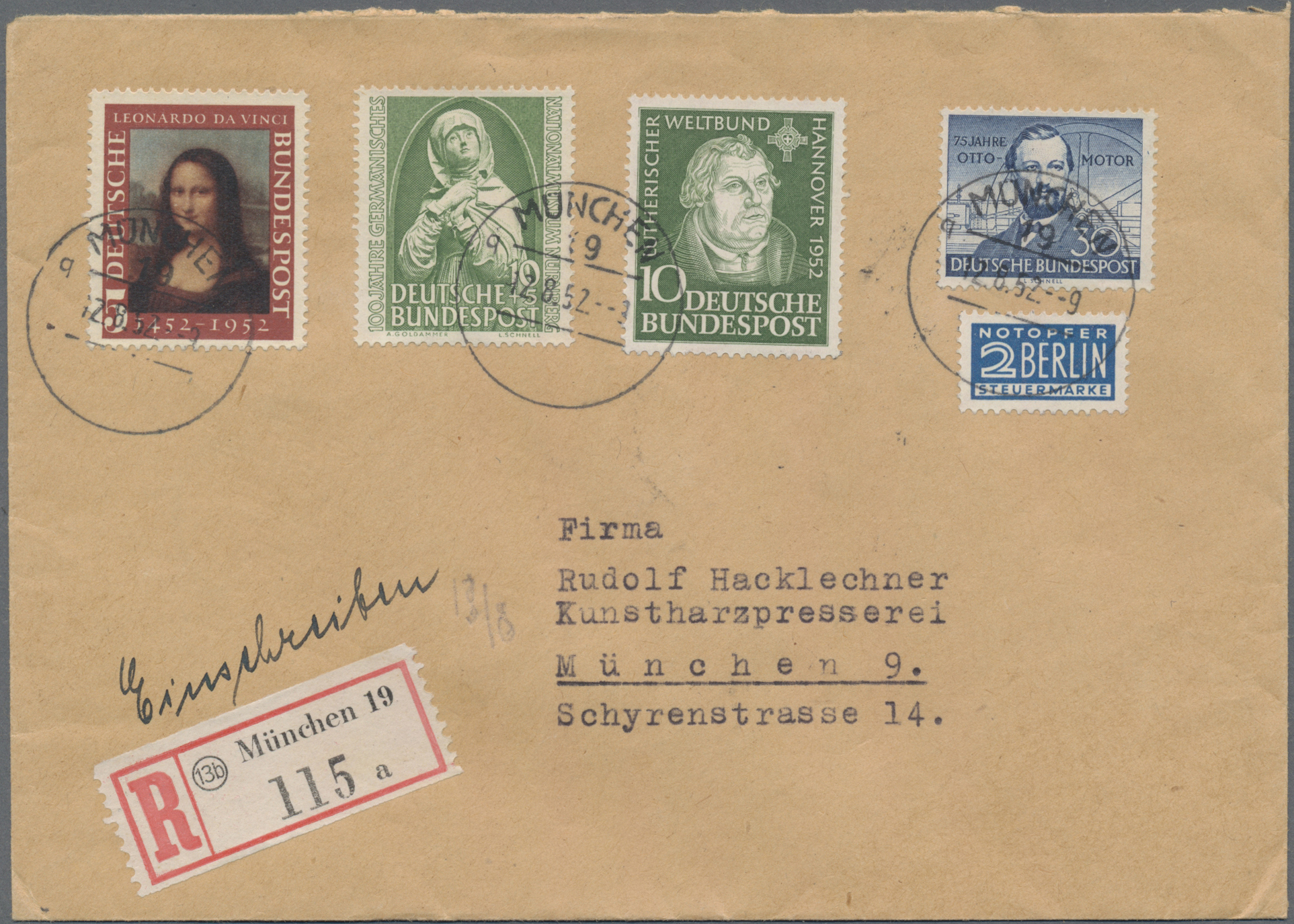 Lot 19700 - nachlässe  -  Auktionshaus Christoph Gärtner GmbH & Co. KG Sale #48 Estates, supplement Germany before & after 1945
