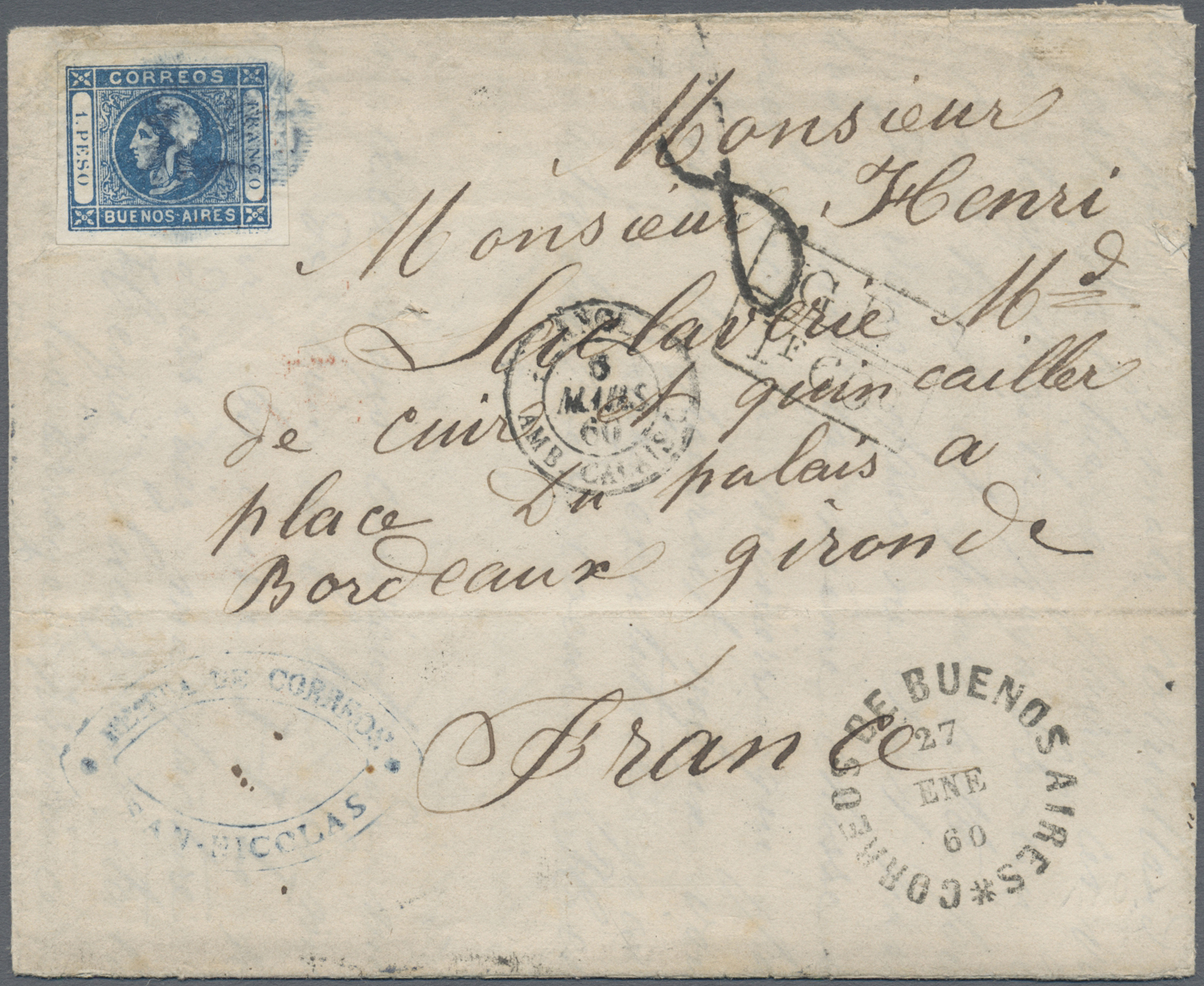 Lot 563 - Argentinien - Provinzen: Buenos Aires  -  Auktionshaus Christoph Gärtner GmbH & Co. KG Auction #41 Special auction part one