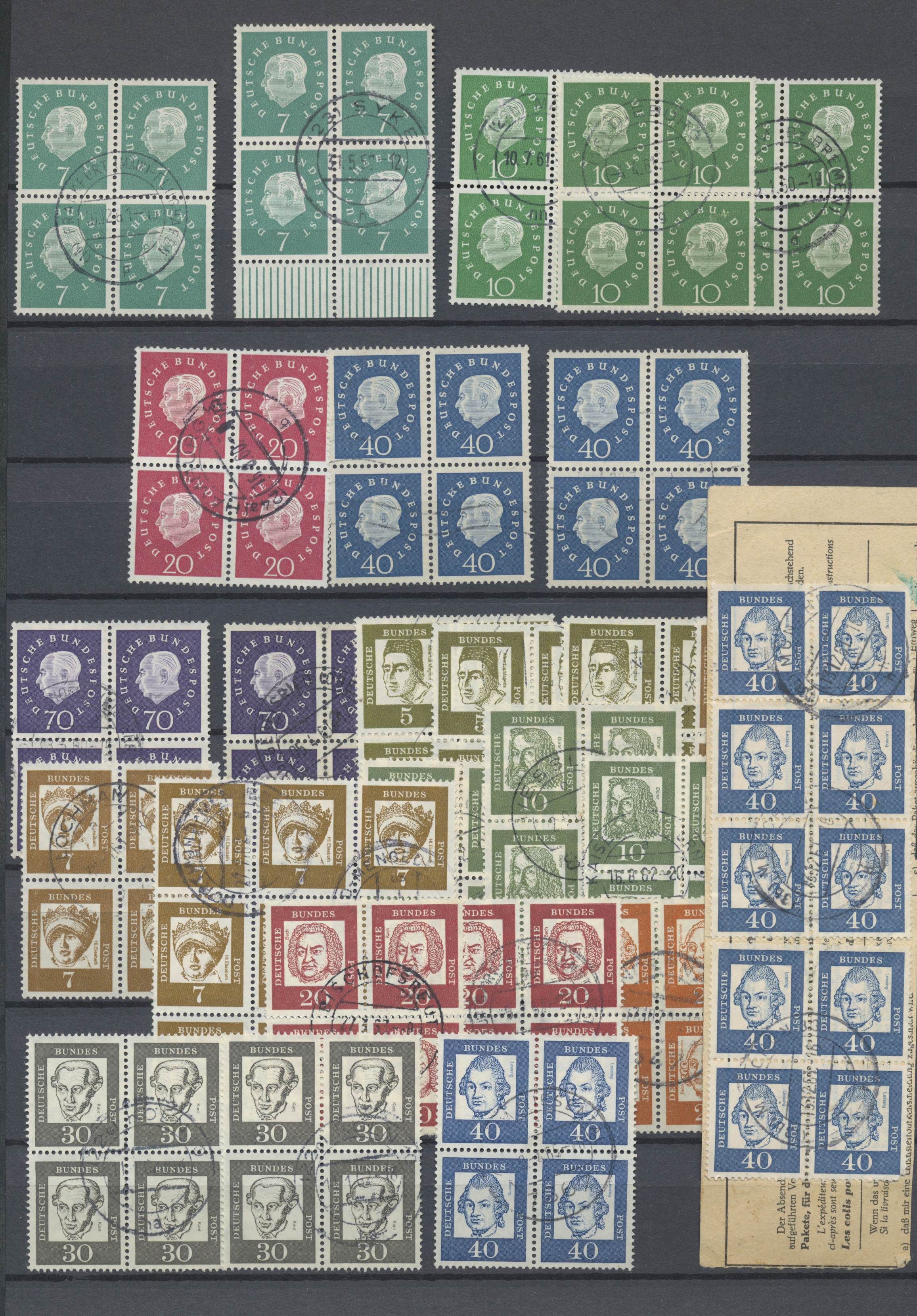 Lot 33563 - bundesrepublik deutschland  -  Auktionshaus Christoph Gärtner GmbH & Co. KG Sale #45- Collections Germany