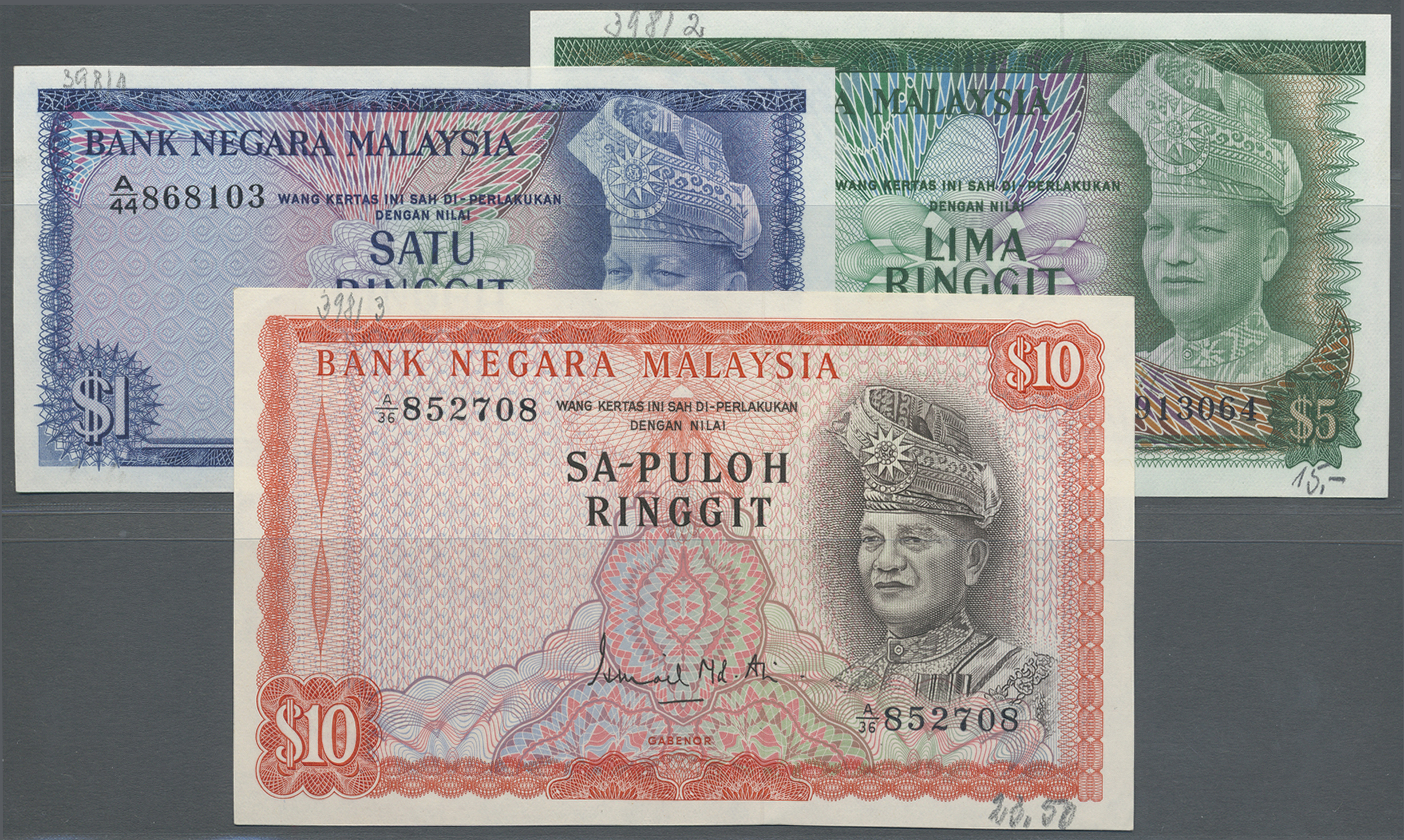 Stamp Auction - Malaysia | Banknoten - Banknotes Worldwide Auction