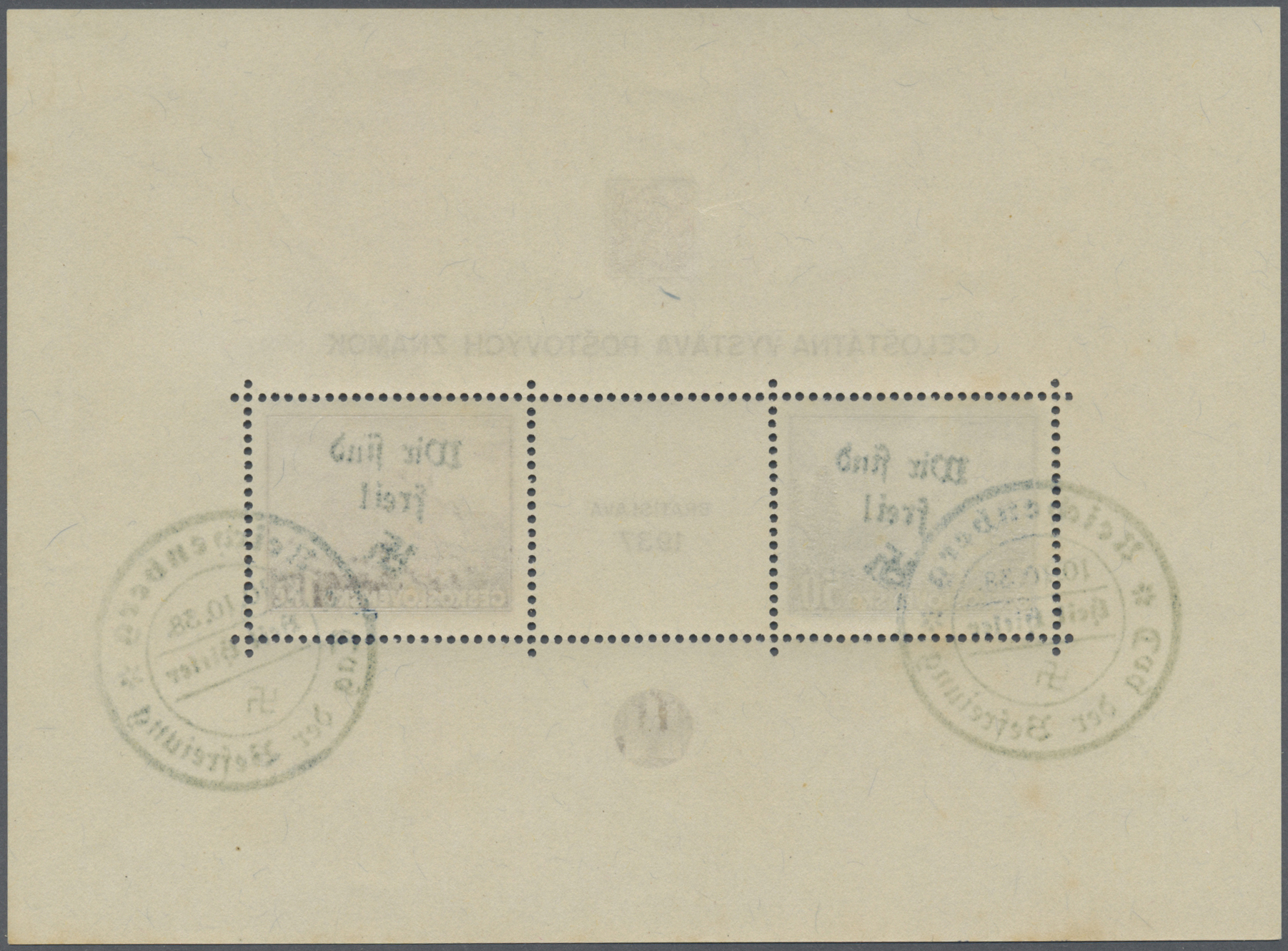 Lot 23098 - Sudetenland - Reichenberg  -  Auktionshaus Christoph Gärtner GmbH & Co. KG Single lots Germany + Picture Postcards. Auction #39 Day 5