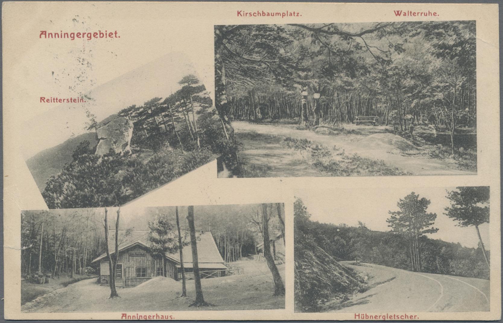 Lot 04182 - Ansichtskarten: Österreich  -  Auktionshaus Christoph Gärtner GmbH & Co. KG Sale #48 The Coins & The Picture Post Cards