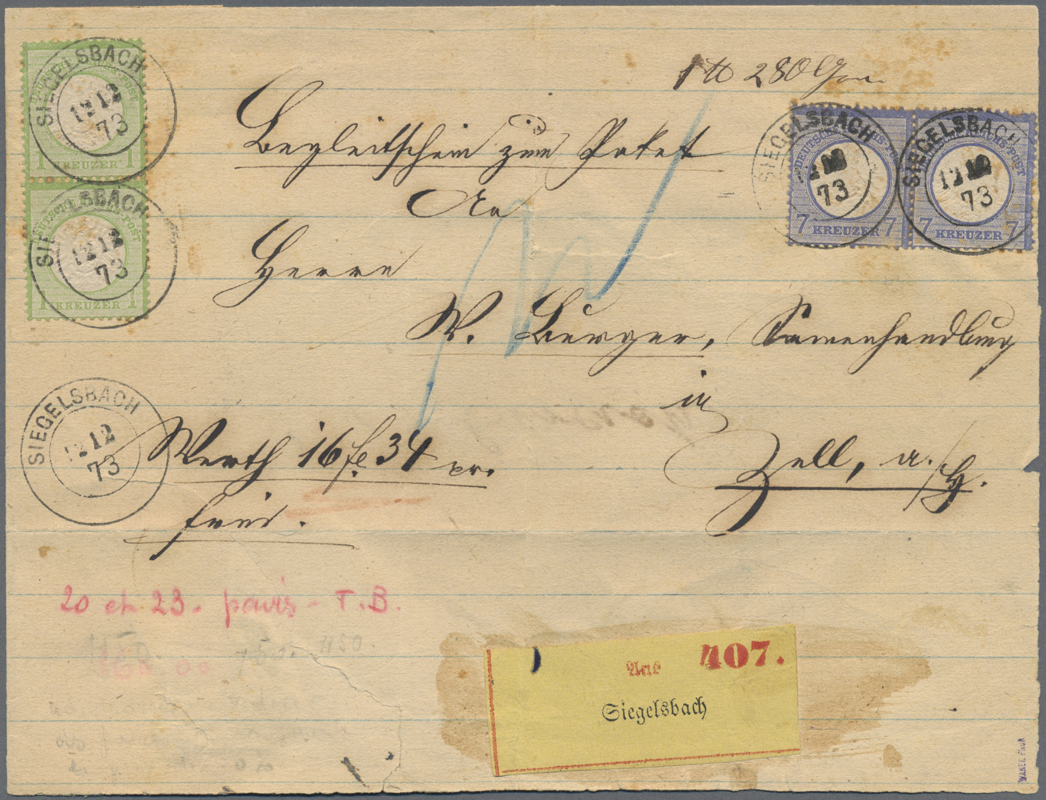 Lot 36666 - Deutsches Reich  -  Auktionshaus Christoph Gärtner GmbH & Co. KG Collections Germany,  Collections Supplement, Surprise boxes #39 Day 7