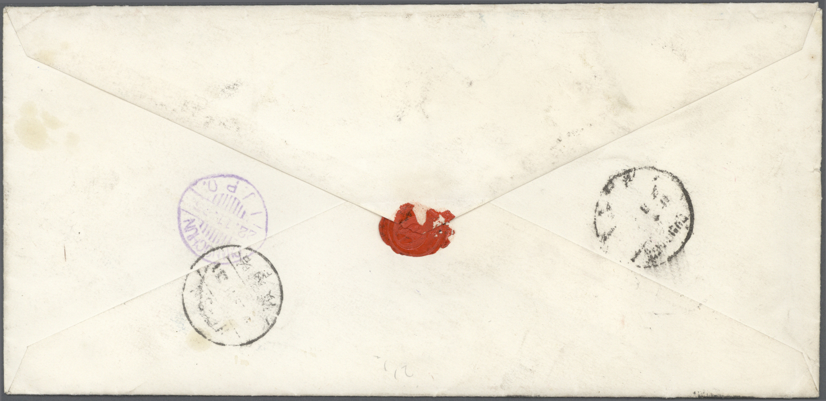 Lot 6588 - japanische post in korea  -  Auktionshaus Christoph Gärtner GmbH & Co. KG Philately: ASIA single lots including Special Catalog Malaya Auction #39 Day 3