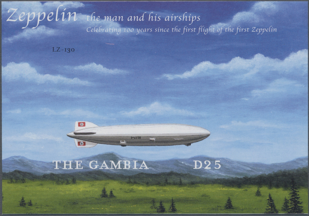 Lot 09053 - thematik: zeppelin / zeppelin  -  Auktionshaus Christoph Gärtner GmbH & Co. KG Sale #46 Single lots Asia, Thematics, Overseas, Europe …