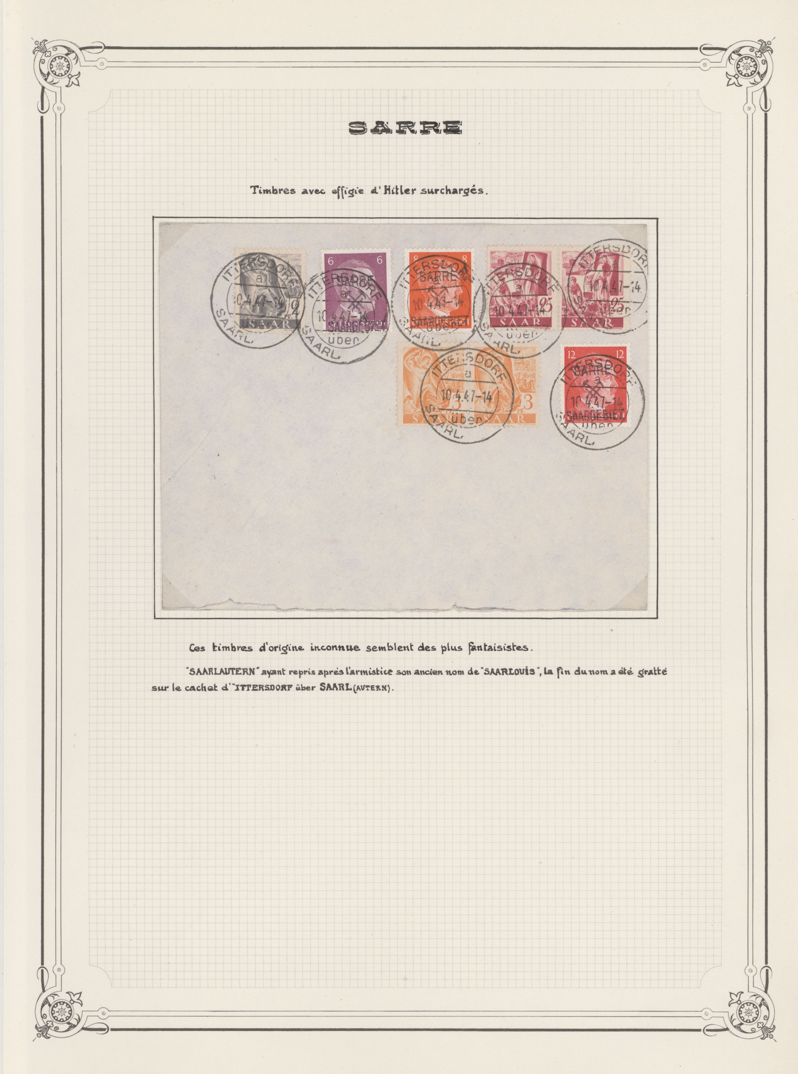 Lot 24367 - Saarland (1947/56)  -  Auktionshaus Christoph Gärtner GmbH & Co. KG 50th Auction Anniversary Auction - Day 7
