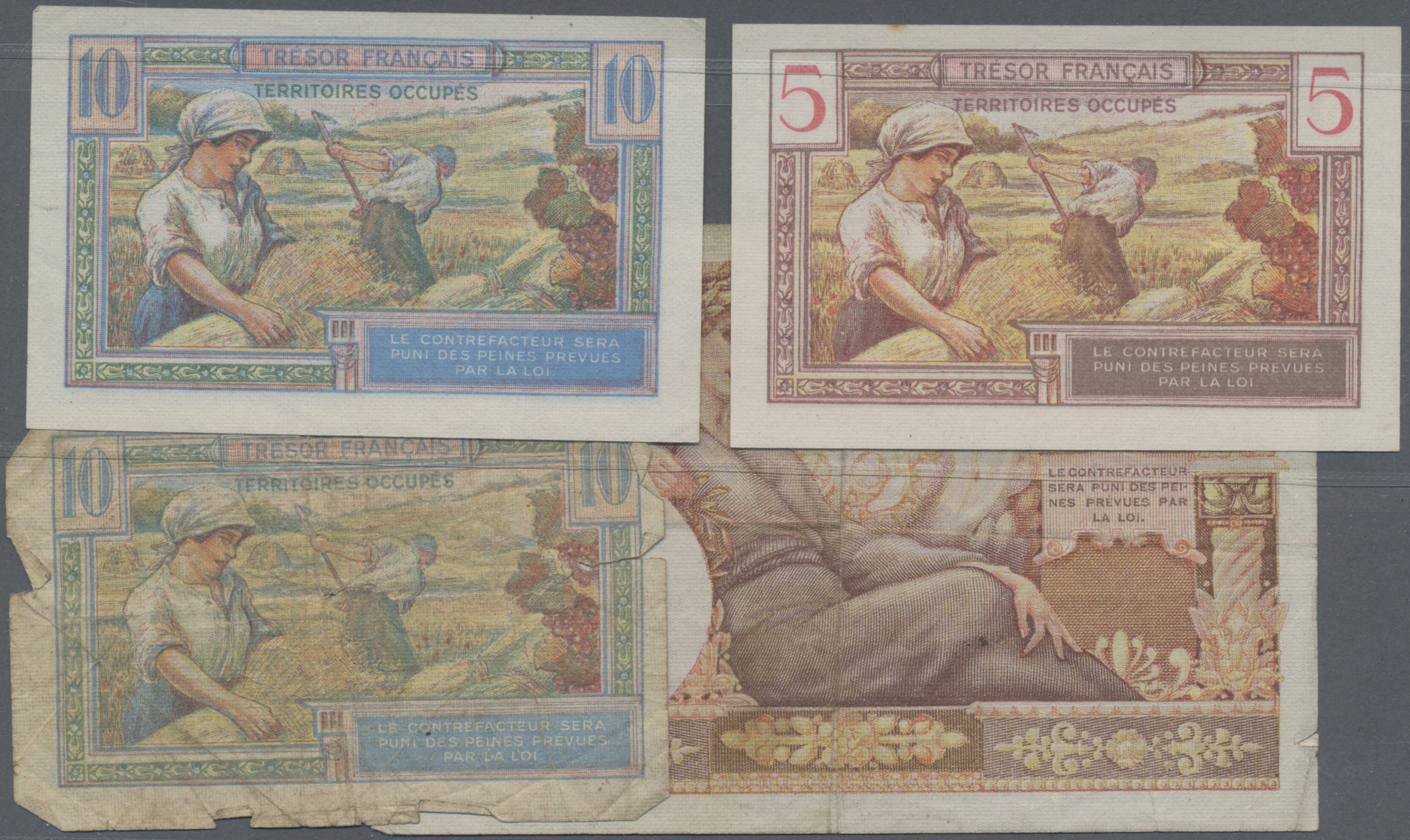 Lot 251 - France / Frankreich | Banknoten  -  Auktionshaus Christoph Gärtner GmbH & Co. KG Sale #49 Coins and Banknotes