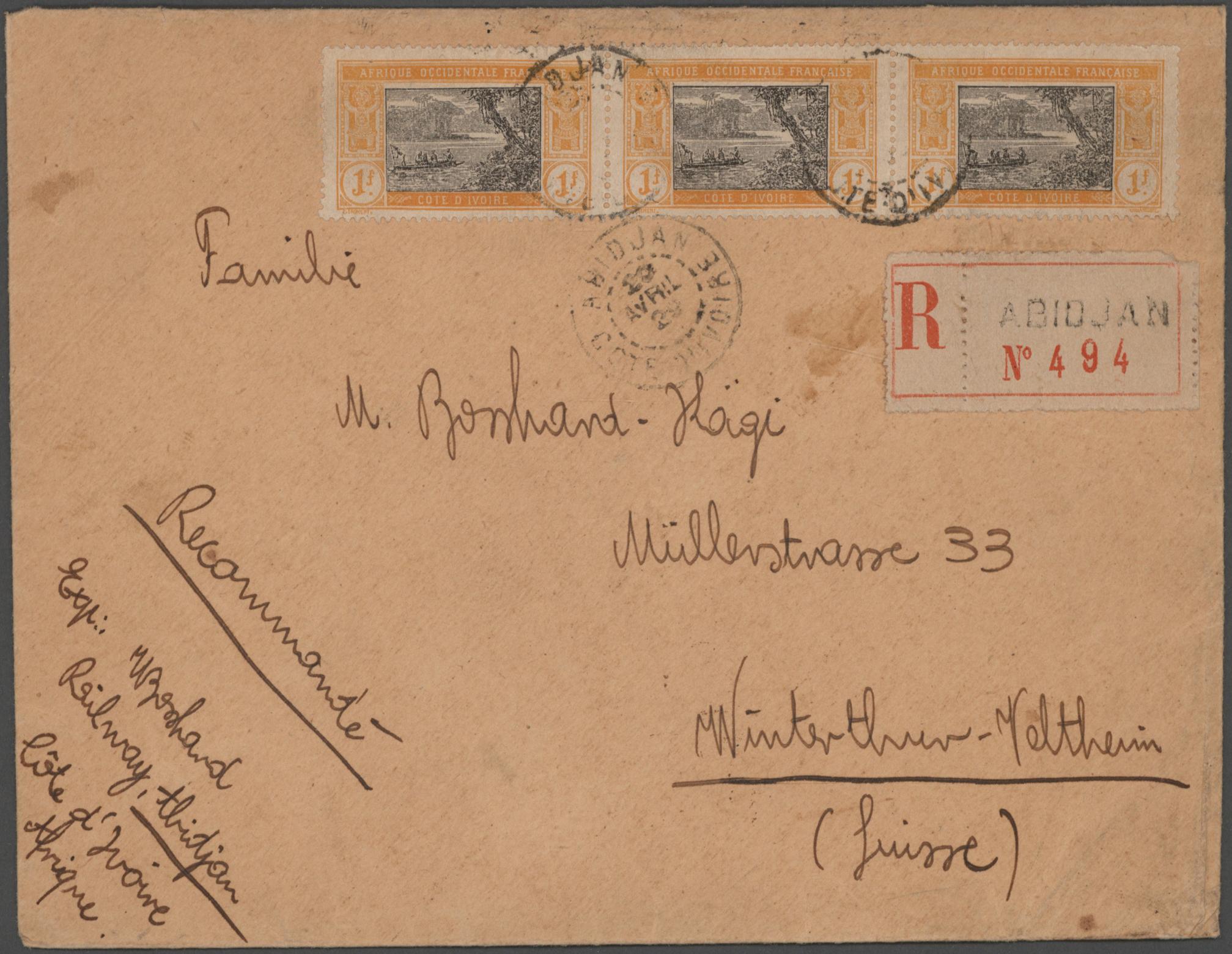 Lot 17401 - französische kolonien  -  Auktionshaus Christoph Gärtner GmbH & Co. KG 50th Auction Anniversary Auction - Day 5