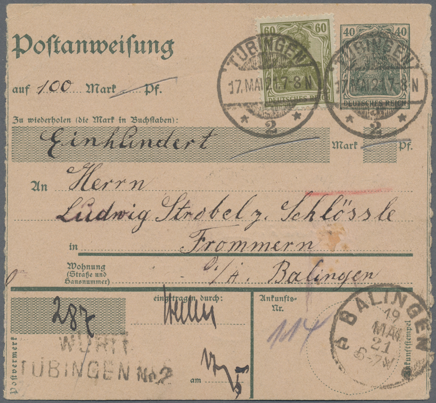 Lot 36482 - Deutsches Reich  -  Auktionshaus Christoph Gärtner GmbH & Co. KG Sale #44 Collections Germany