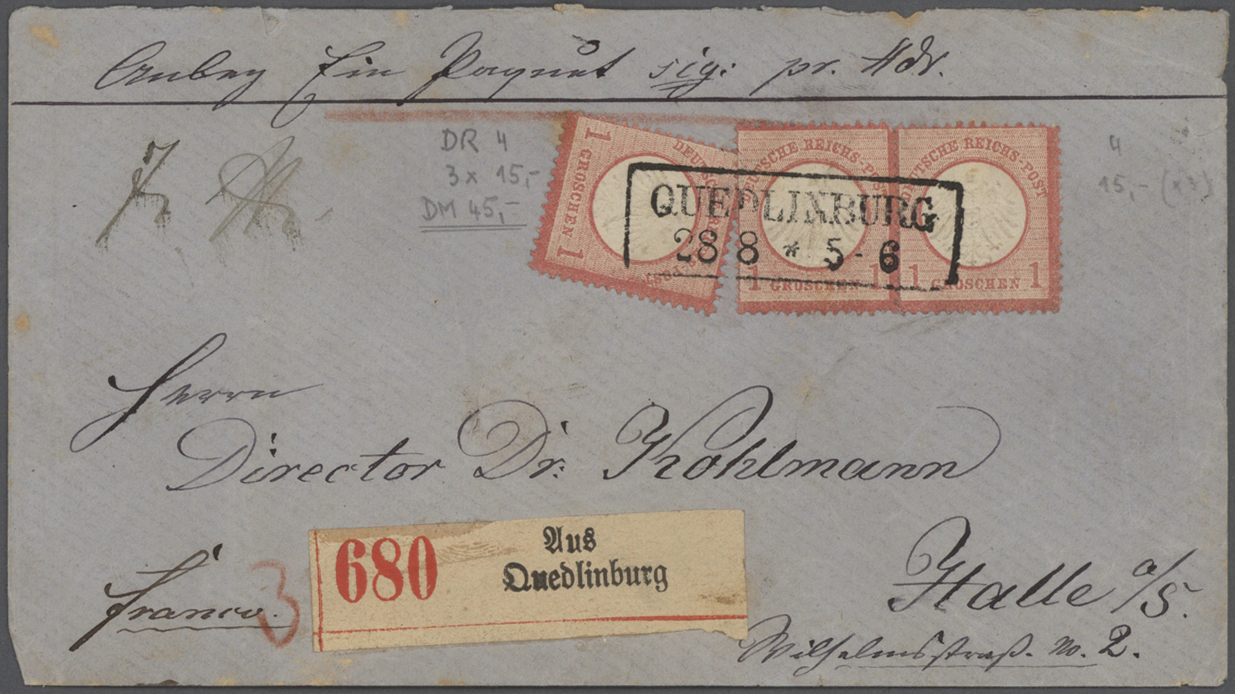 Lot 36749 - Deutsches Reich - Brustschild  -  Auktionshaus Christoph Gärtner GmbH & Co. KG Collections Germany,  Collections Supplement, Surprise boxes #39 Day 7
