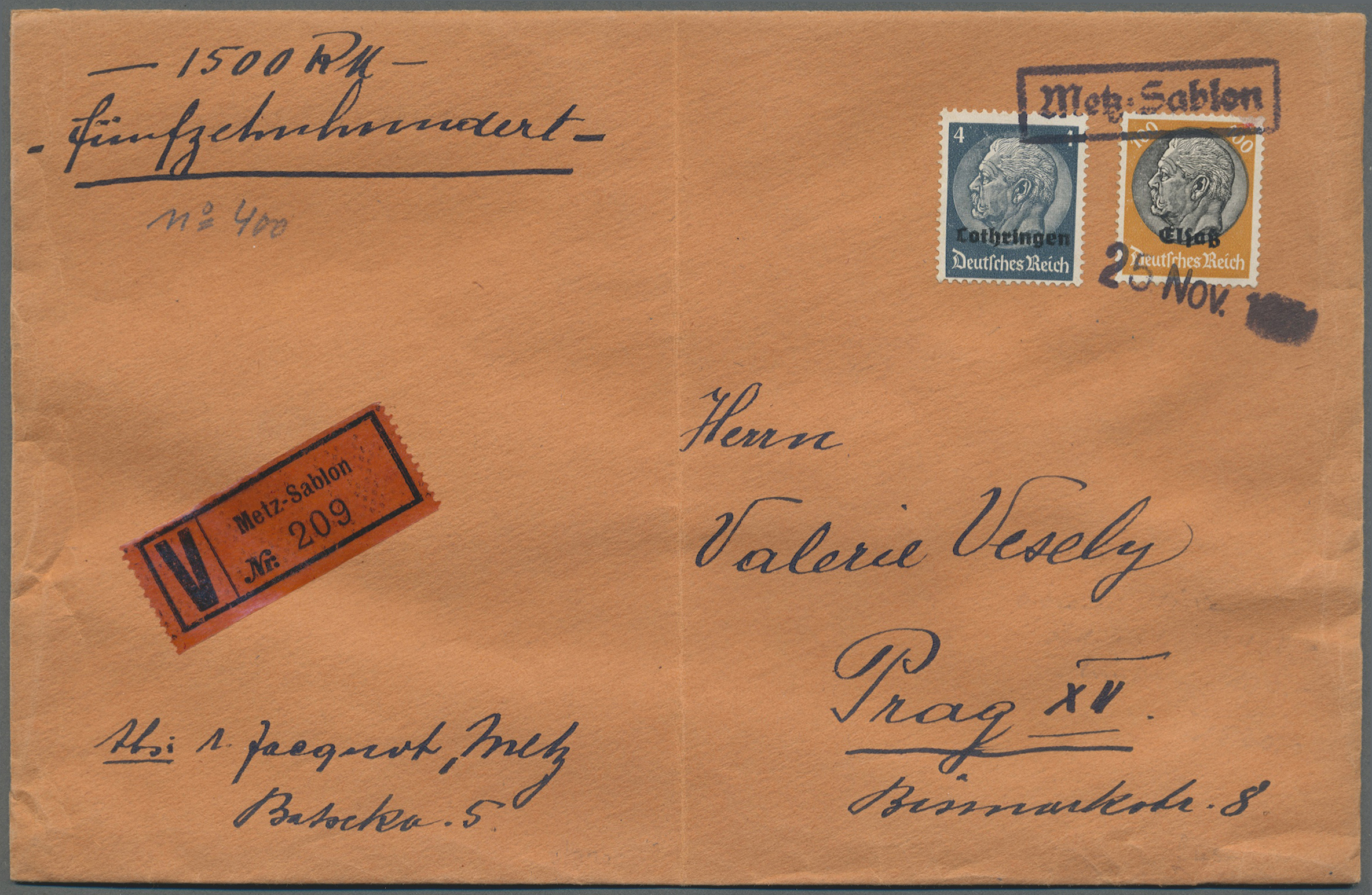 Lot 37485 - deutsche besetzung ii. wk  -  Auktionshaus Christoph Gärtner GmbH & Co. KG Collections Germany,  Collections Supplement, Surprise boxes #39 Day 7