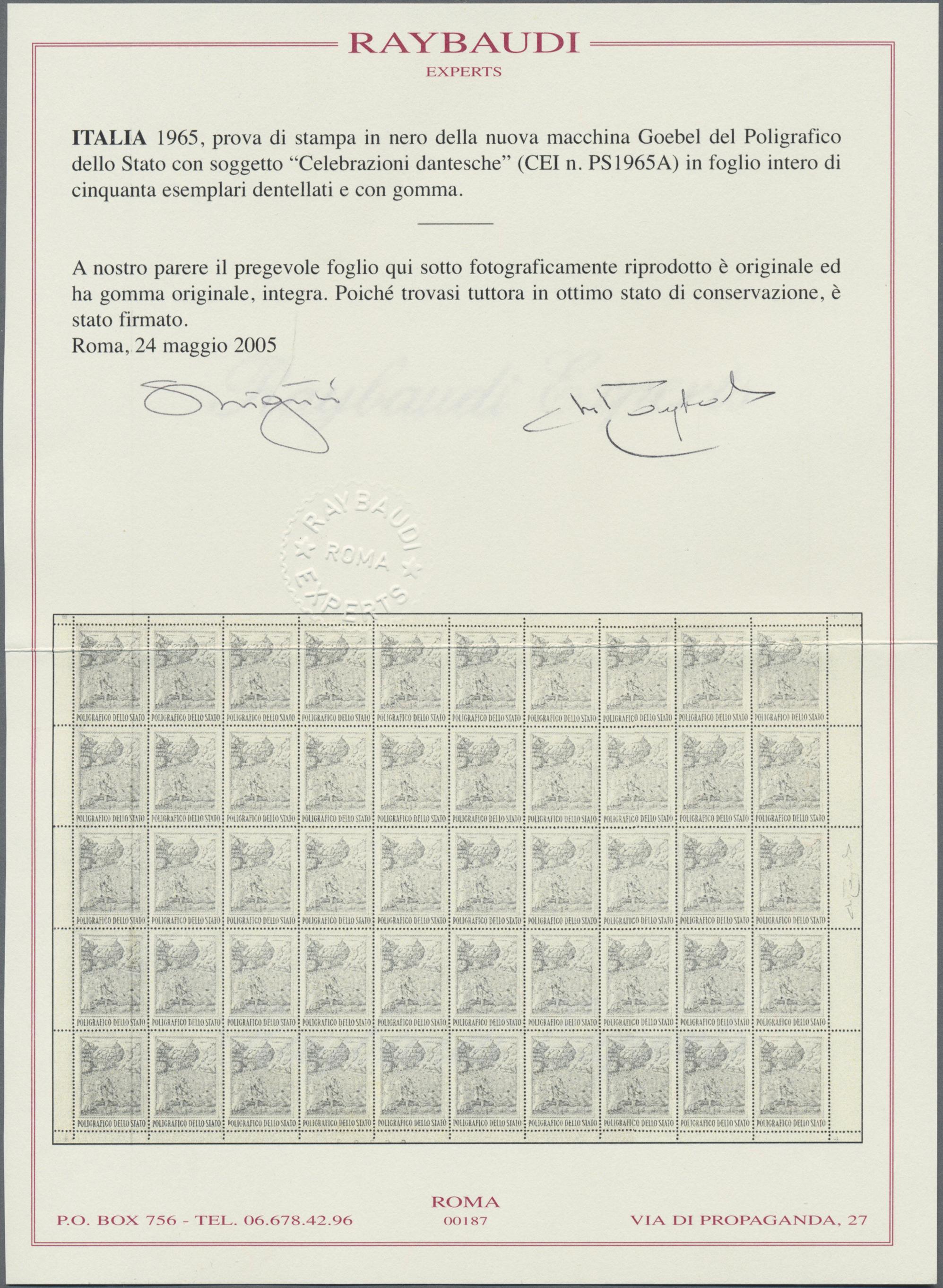 Lot 09049 - italien  -  Auktionshaus Christoph Gärtner GmbH & Co. KG Sale #48 The Single Lots Philatelie